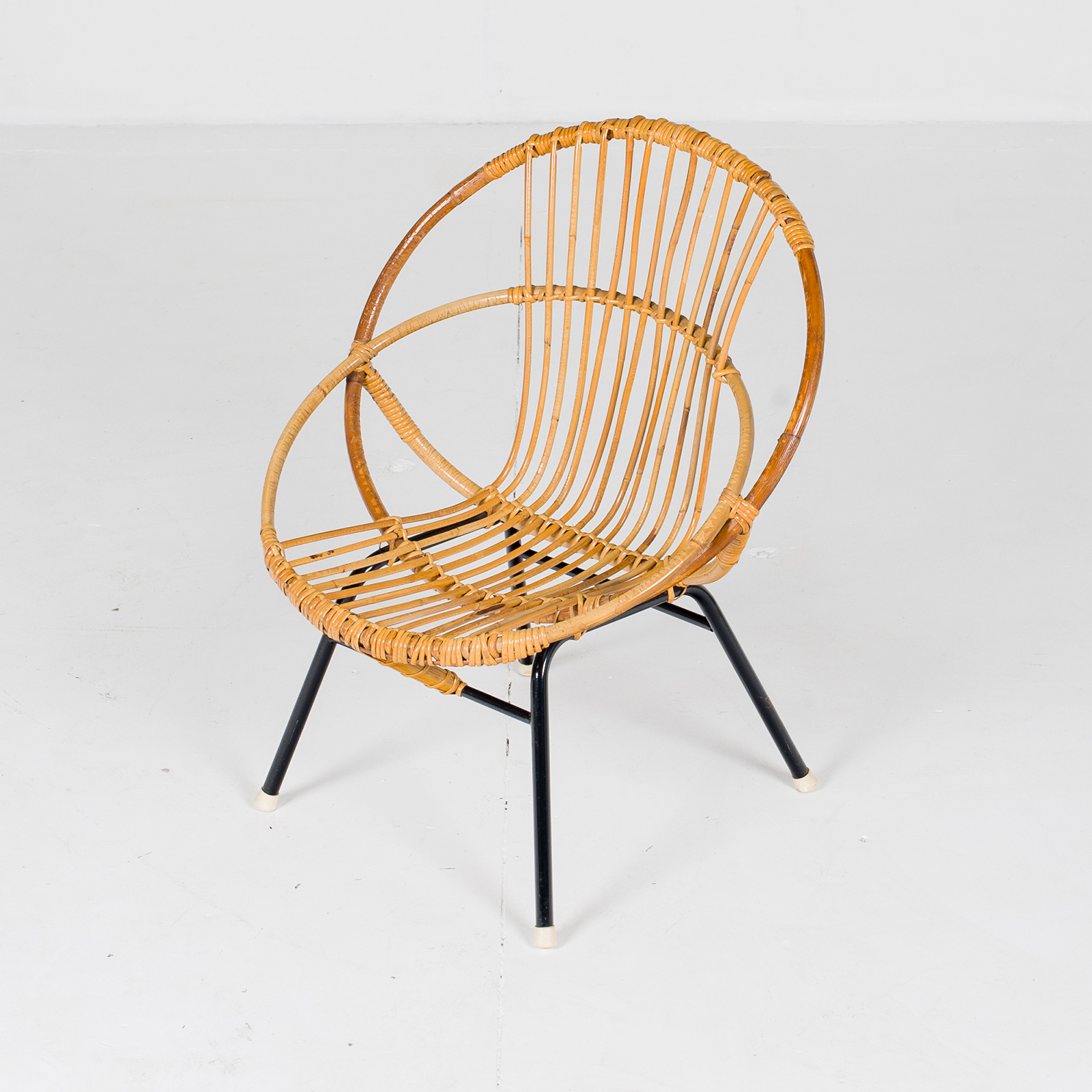 Set Of 4 Ratan Chairs (mt Ch 194 1905)