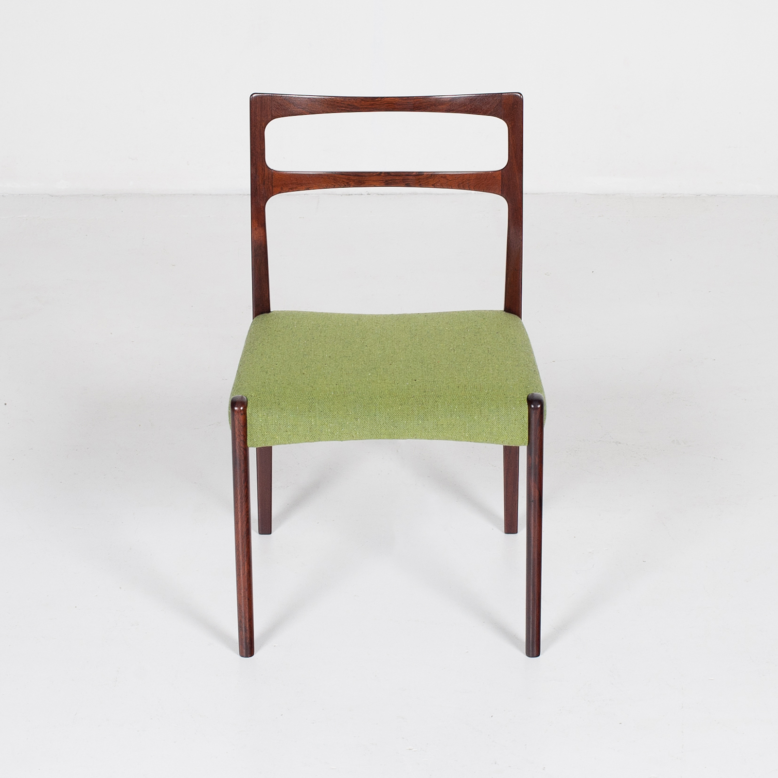 Set Of 4 Ladder Back Dining Chairs By Niels Moller In Rosewood, 1960s, Denmark25