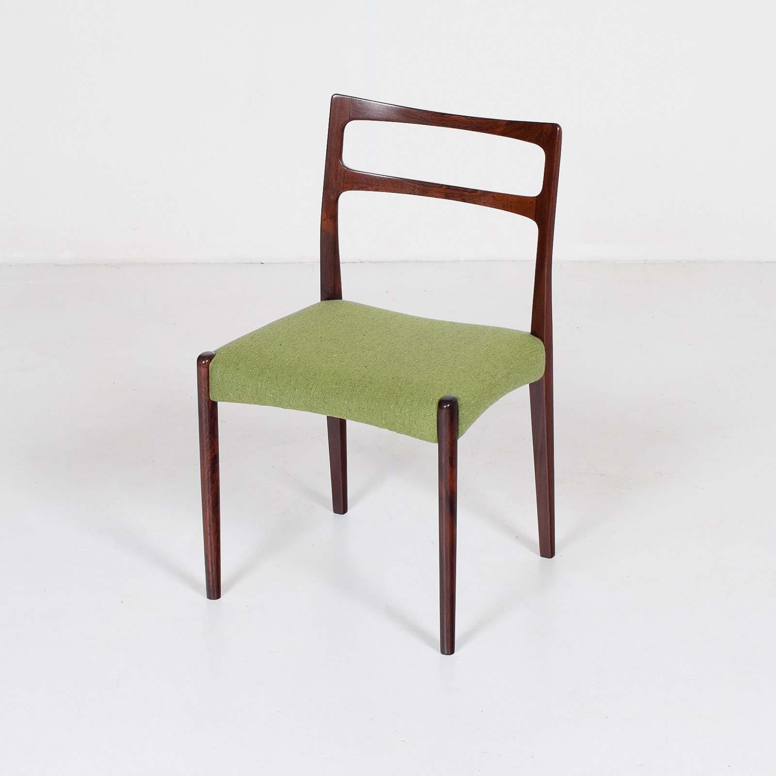 Set Of 4 Ladder Back Dining Chairs By Niels Moller In Rosewood, 1960s, Denmark26