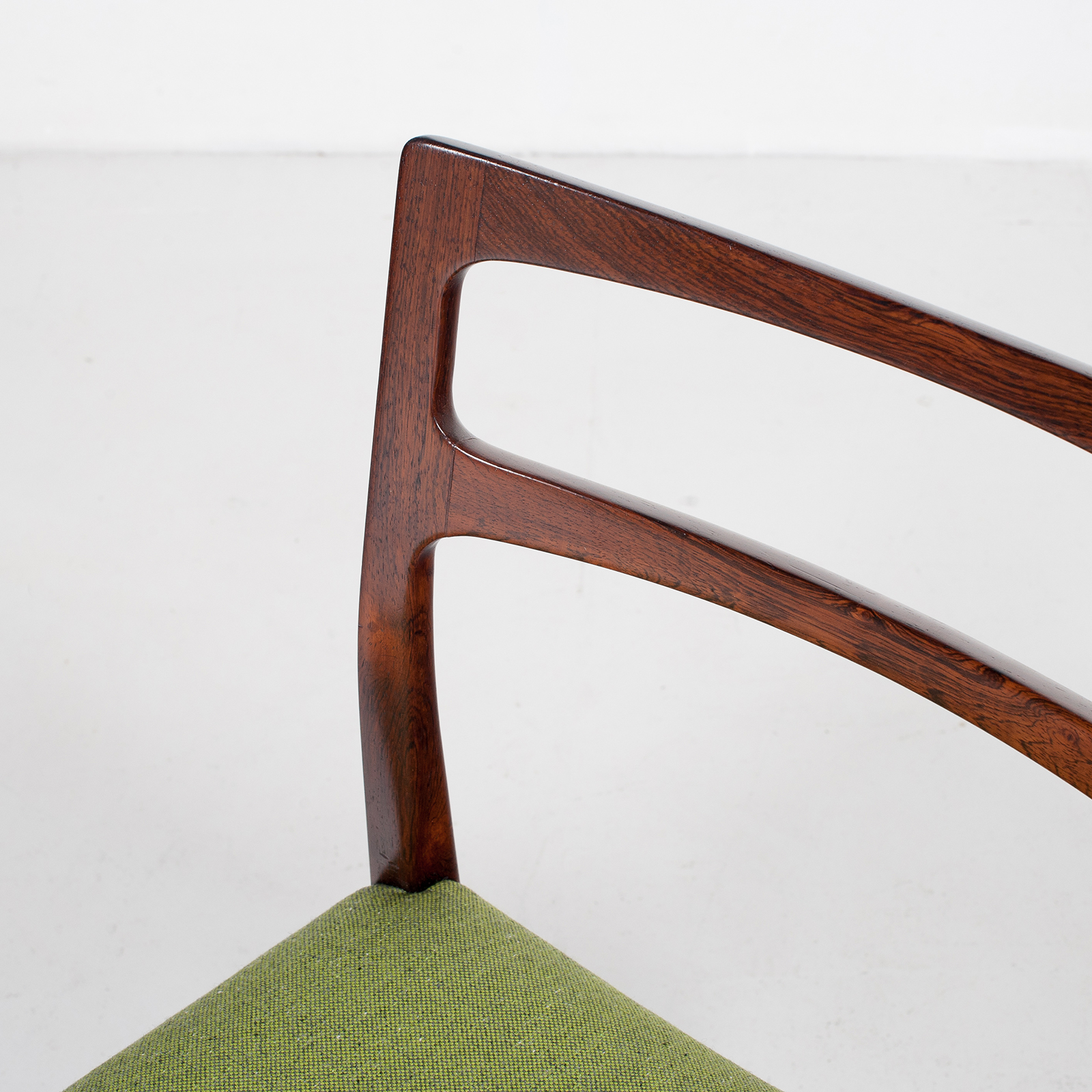 Set Of 4 Ladder Back Dining Chairs By Niels Moller In Rosewood, 1960s, Denmark28