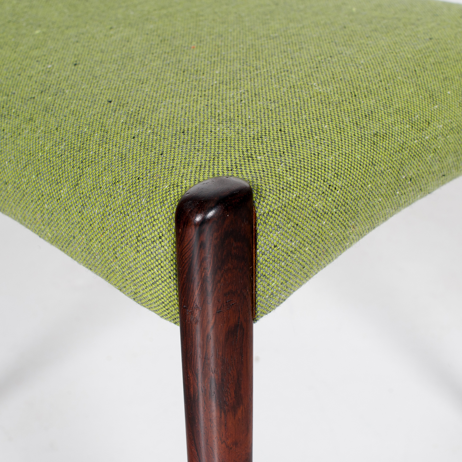 Set Of 4 Ladder Back Dining Chairs By Niels Moller In Rosewood, 1960s, Denmark30