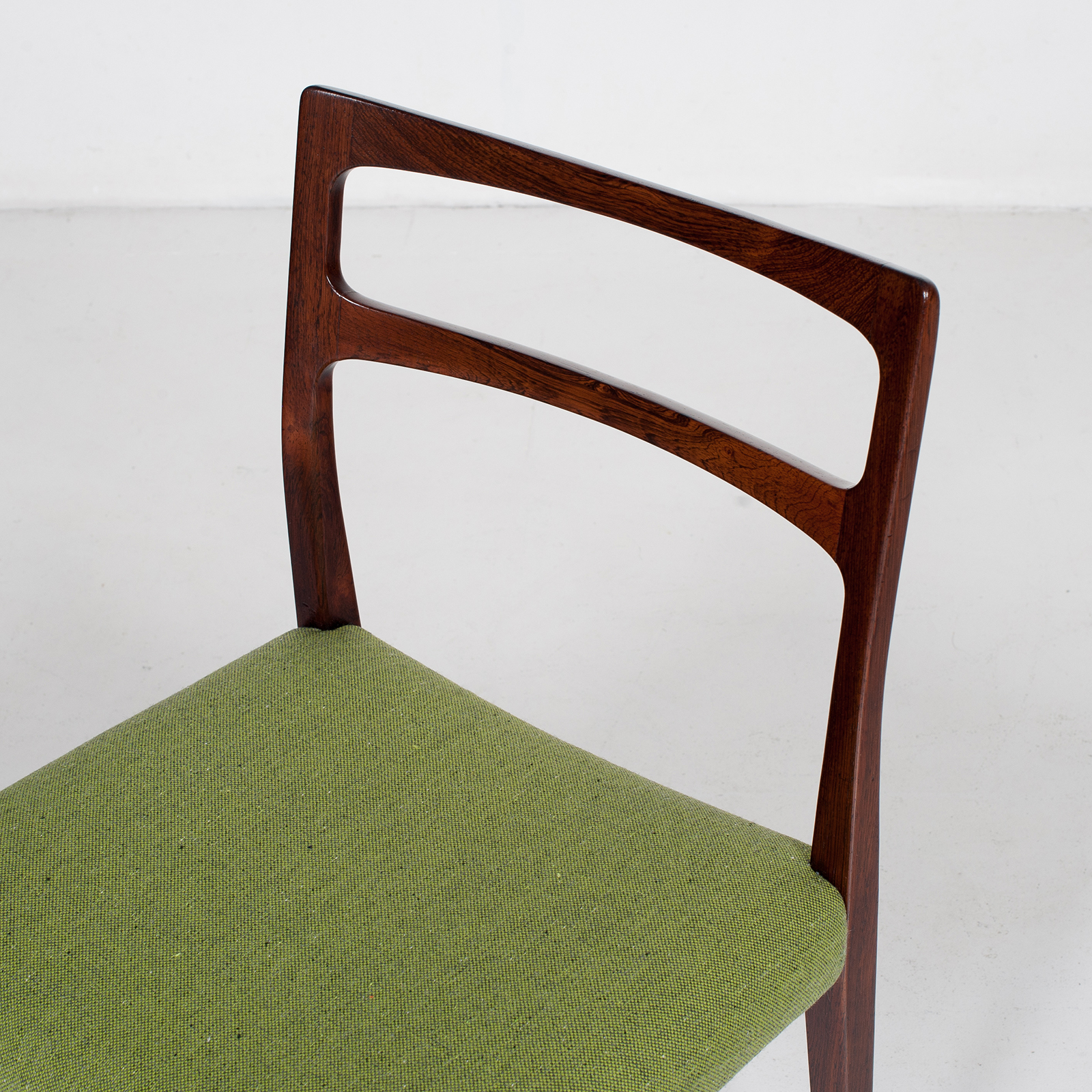 Set Of 4 Ladder Back Dining Chairs By Niels Moller In Rosewood, 1960s, Denmark31