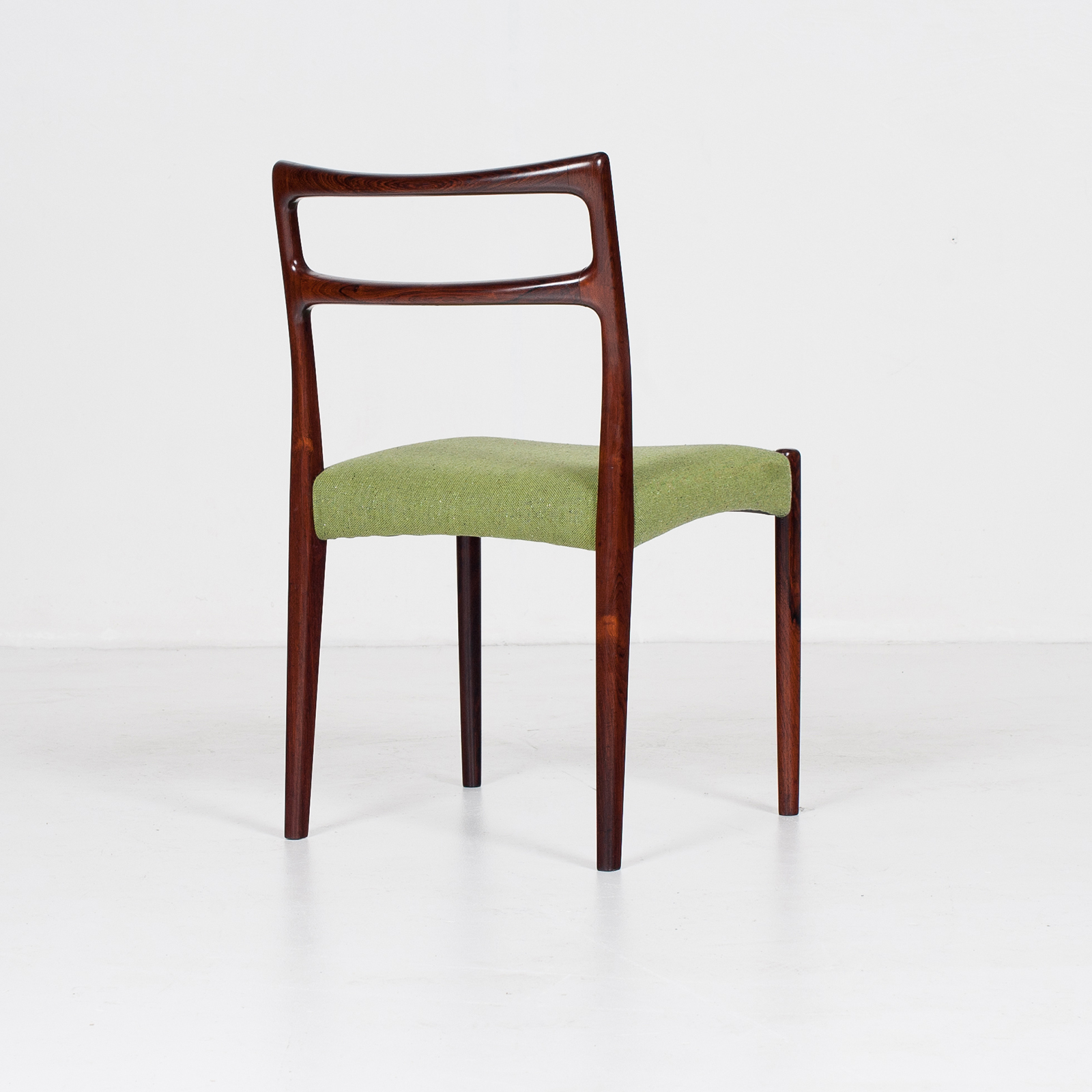 Set Of 4 Ladder Back Dining Chairs By Niels Moller In Rosewood, 1960s, Denmark32