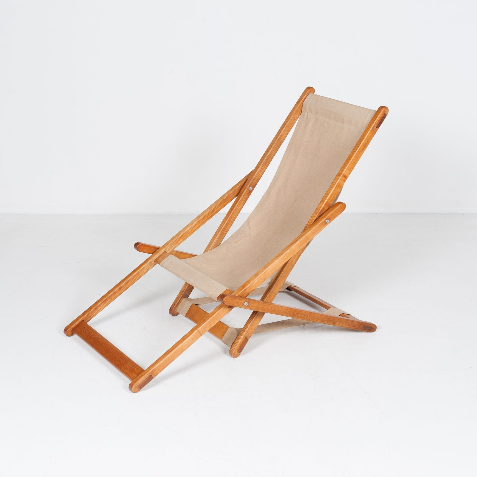 Timber And Canvas Sun Lounge (mt Ch 194 1904 Nl)83
