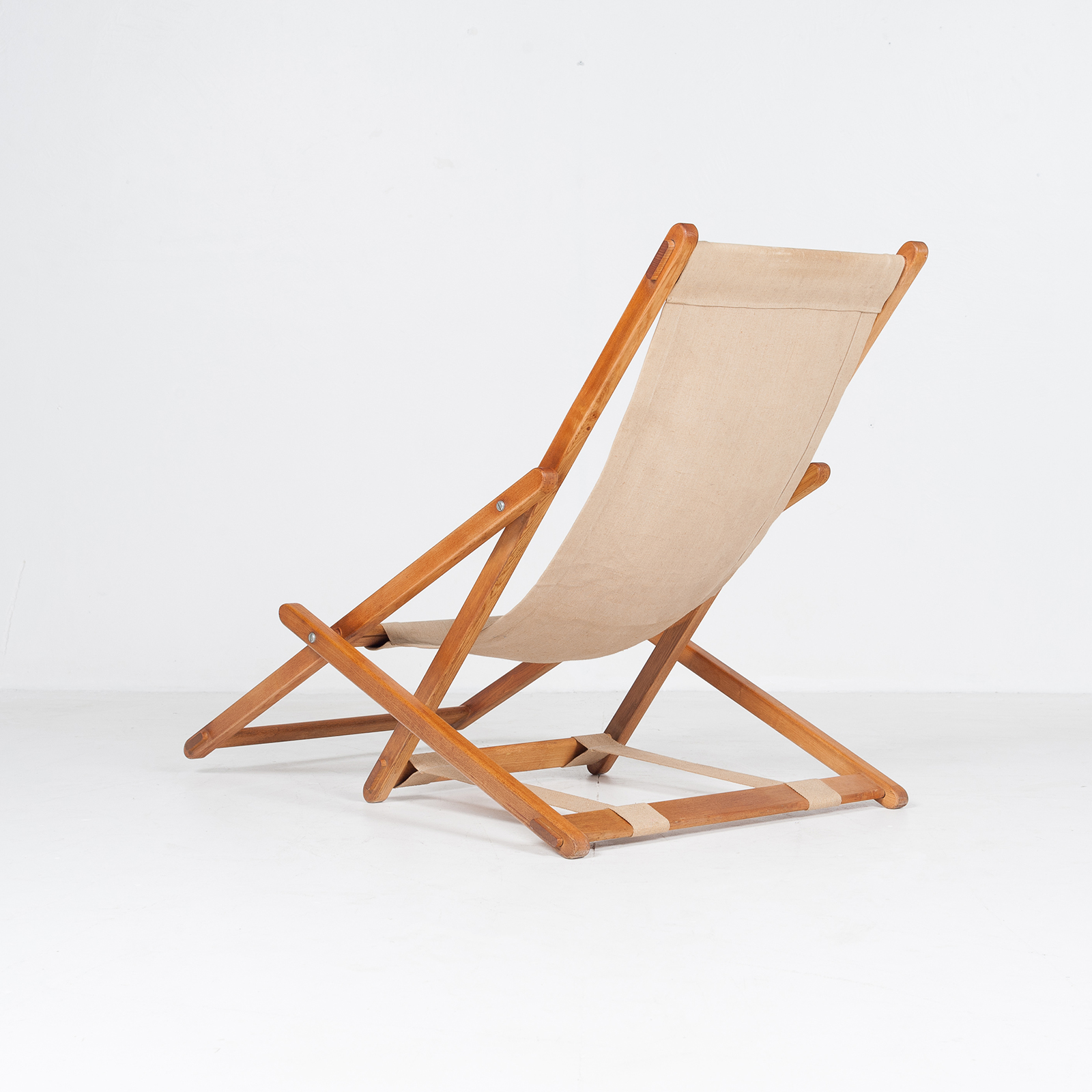 Timber And Canvas Sun Lounge (mt Ch 194 1904 Nl)87