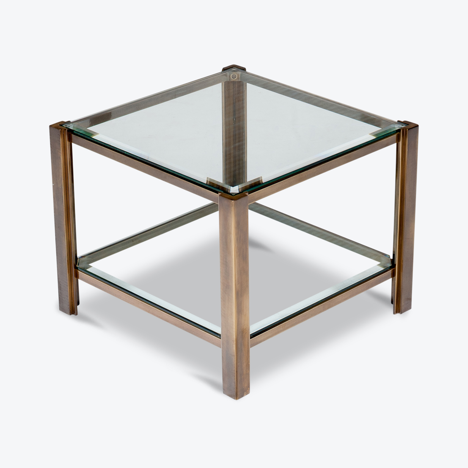 Side Table In The Style Of Peter Ghyzcy, 1970s, The Netherlands Hero