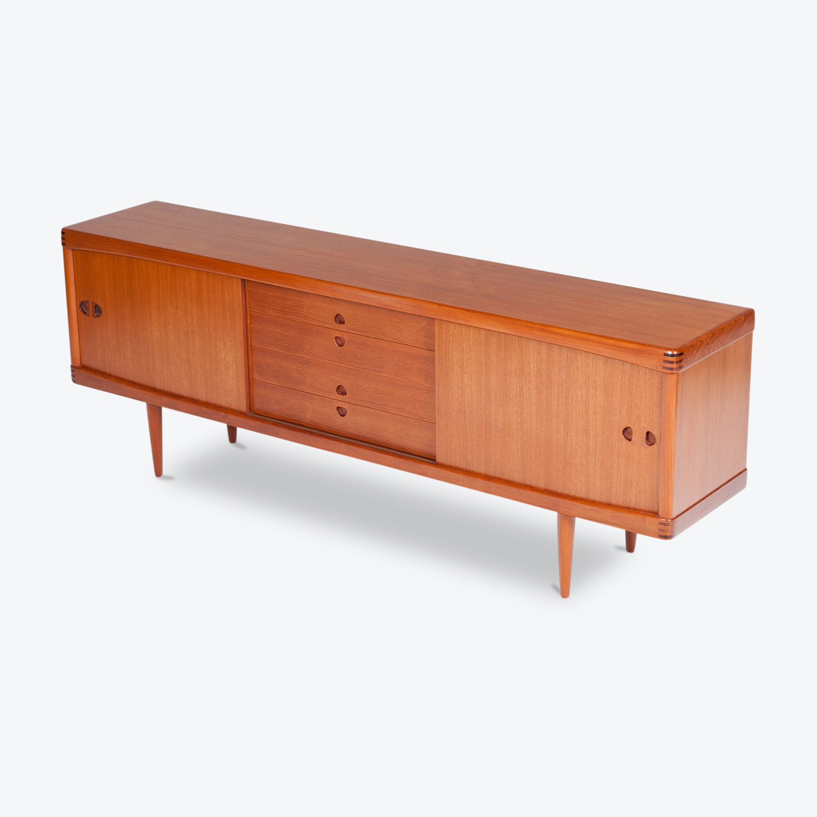 Sideboard By H W Klein In Teak For Bramin, 1960s, Denmark Hero