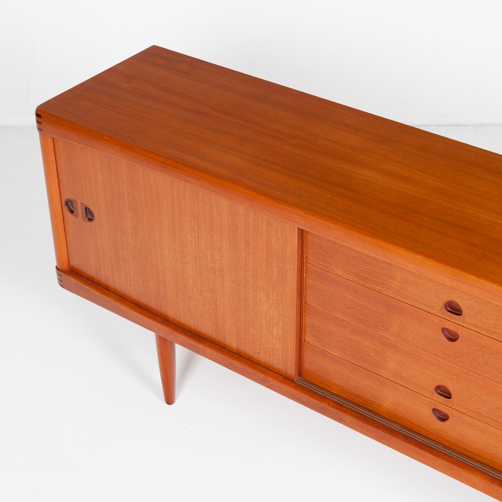 Sideboard By H W Klein In Teak For Bramin, 1960s, Denmark90