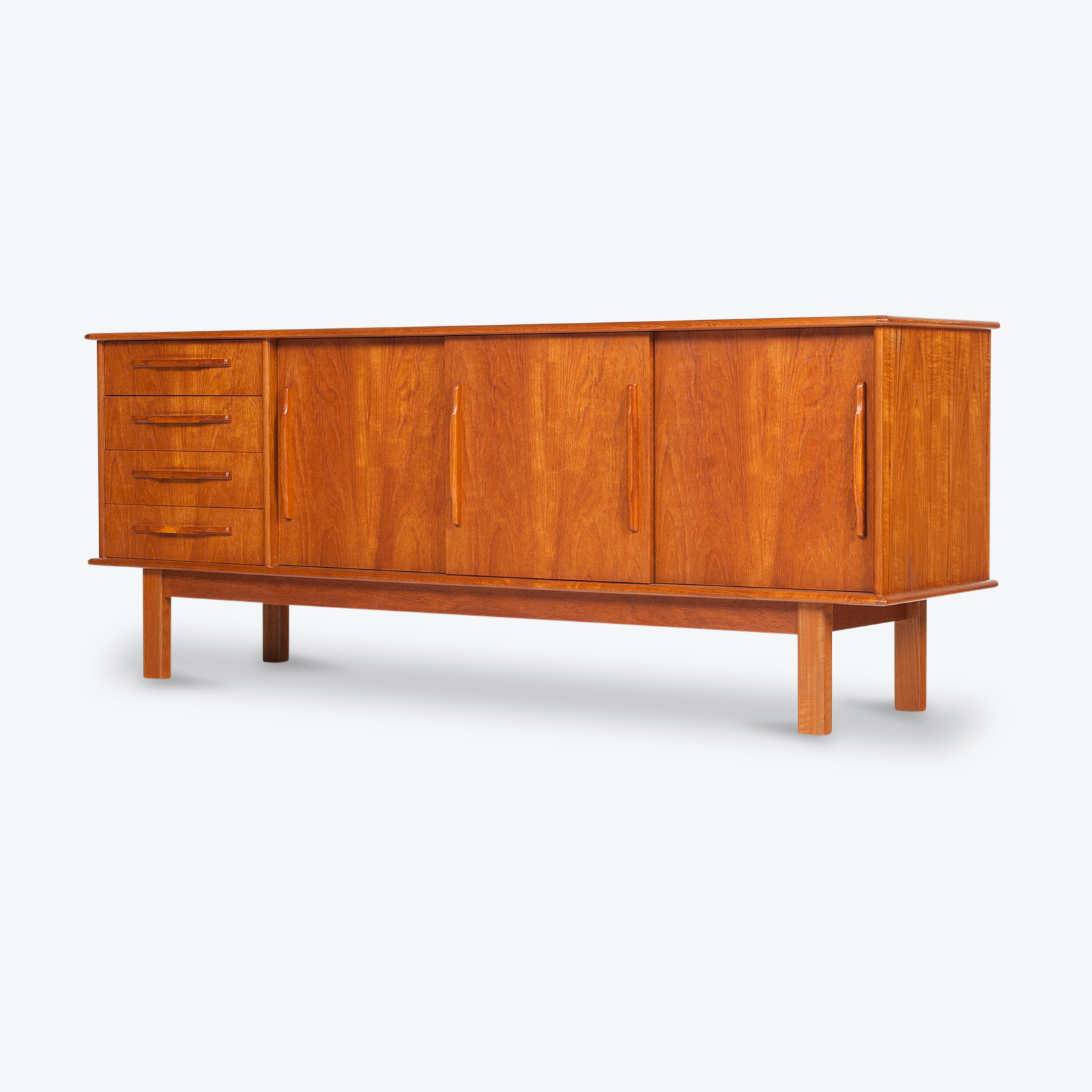 Sideboard In Teak, 1970s, Denmark Hero
