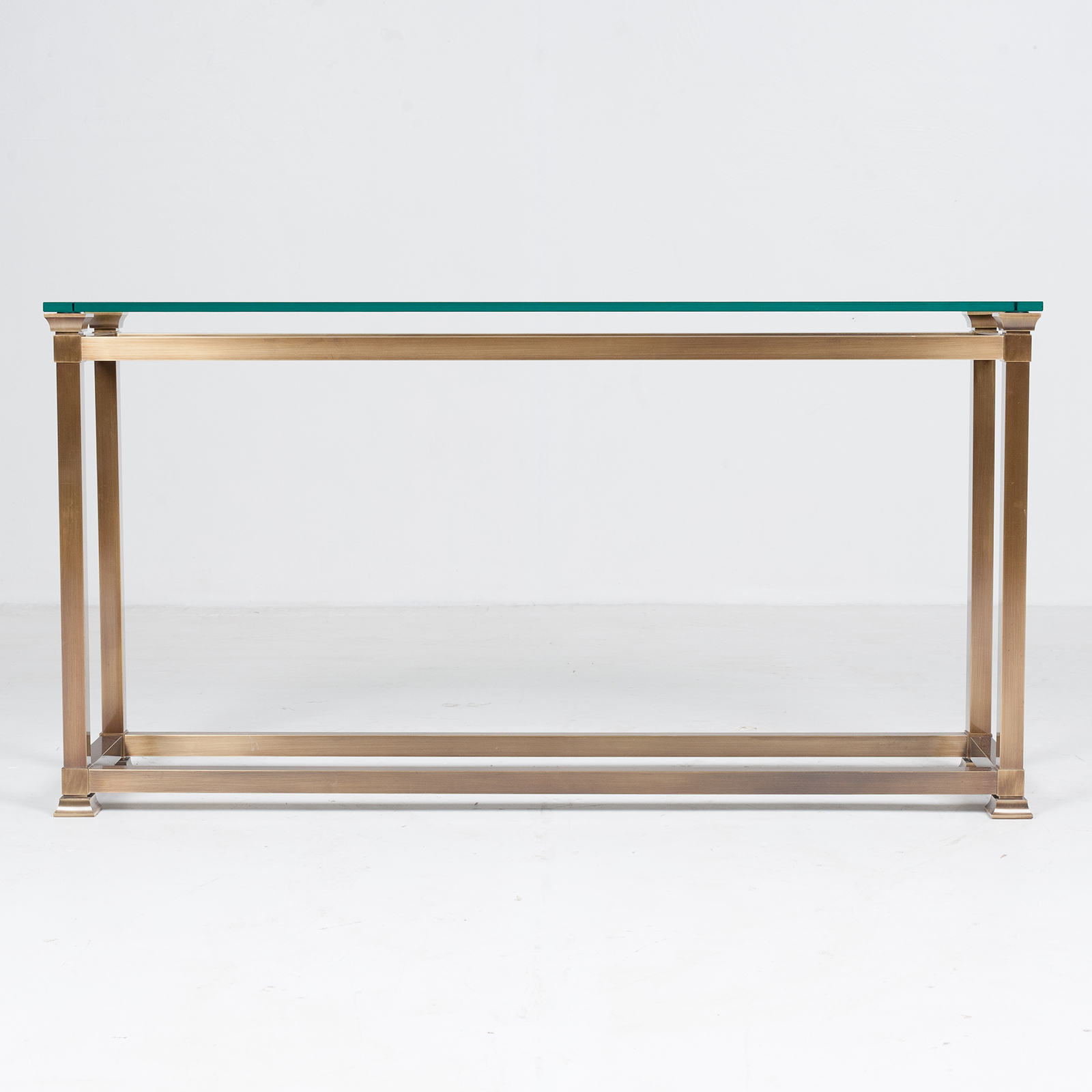Wall Console In Brass, 1960s, The Netherlands1