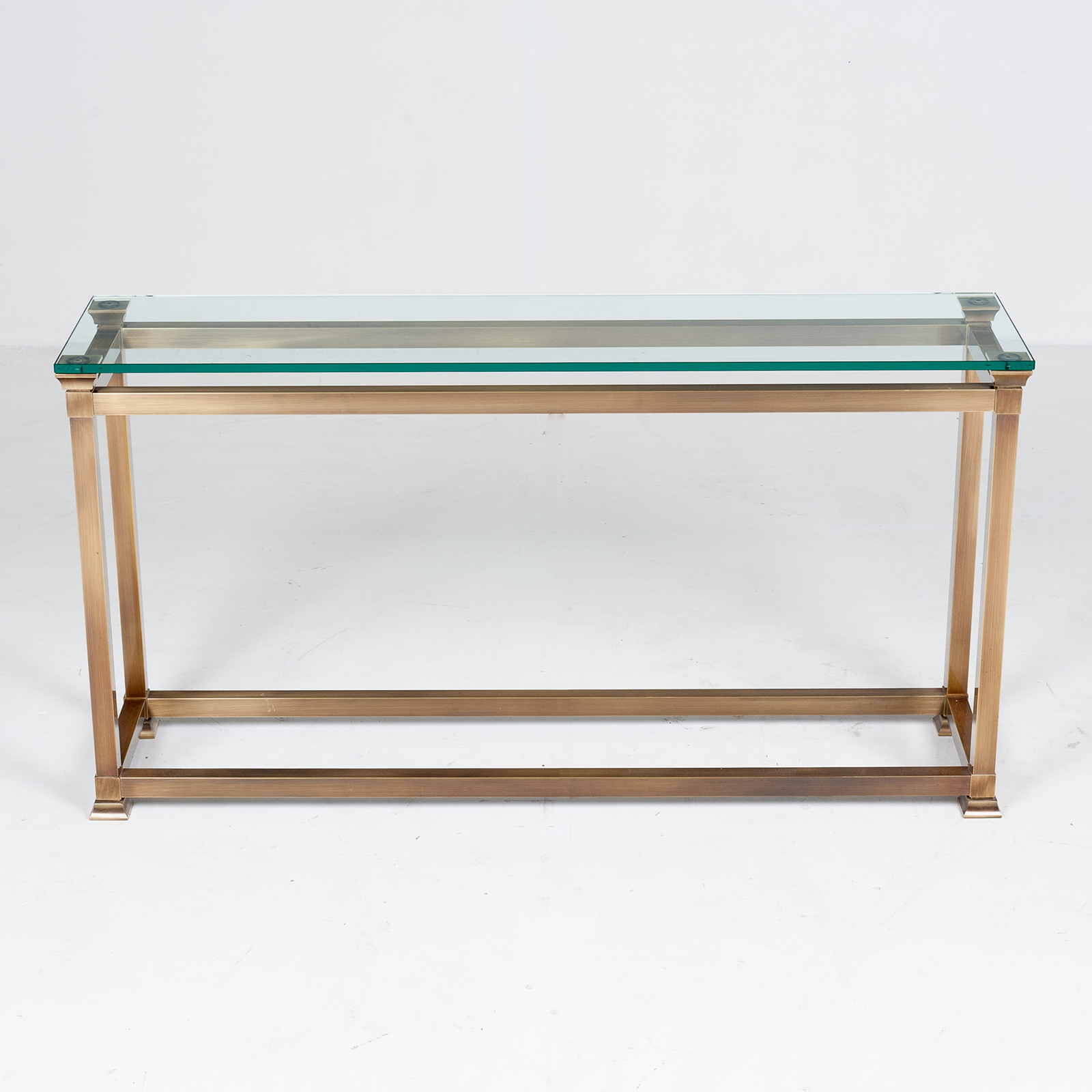 Wall Console In Brass, 1960s, The Netherlands2