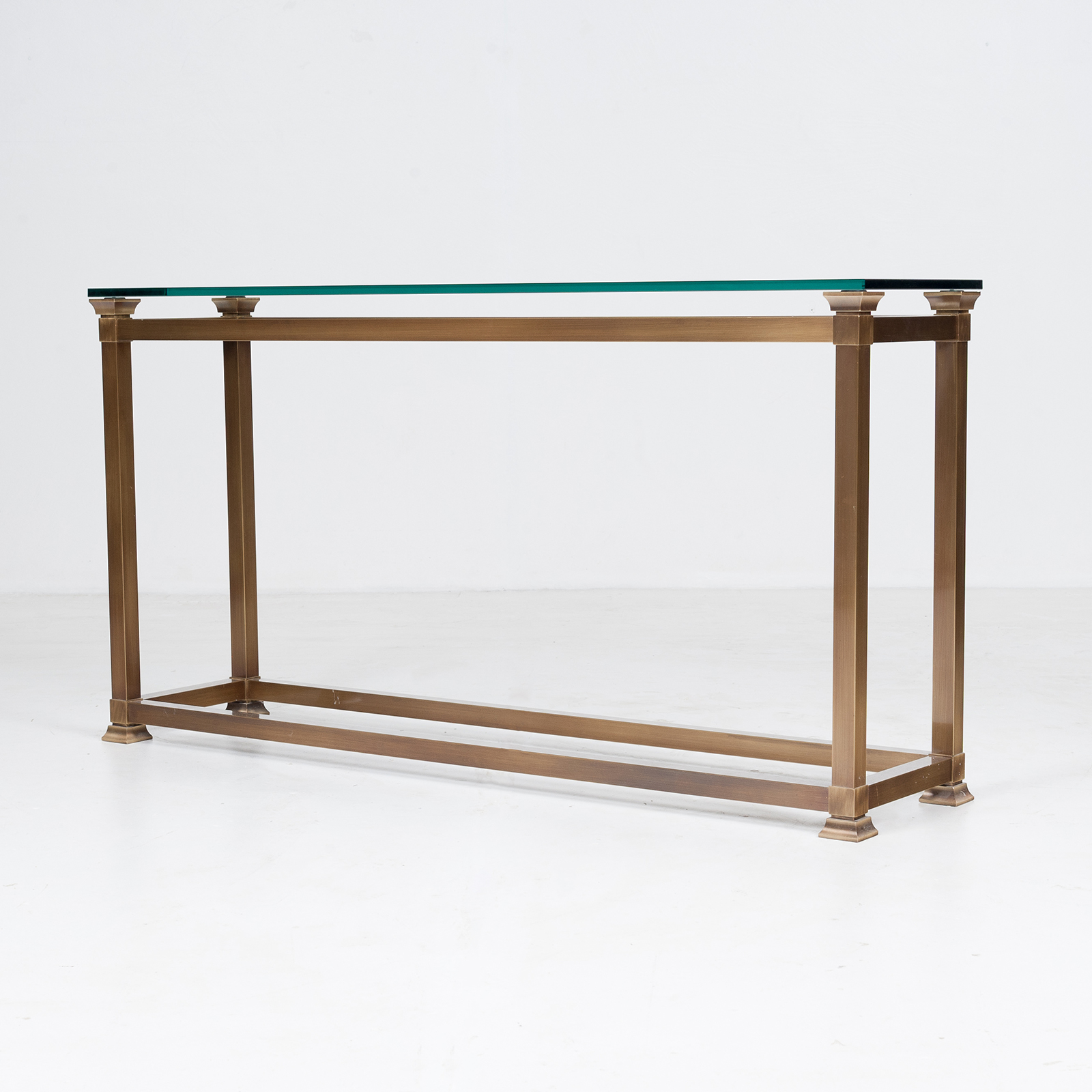 Wall Console In Brass, 1960s, The Netherlands4