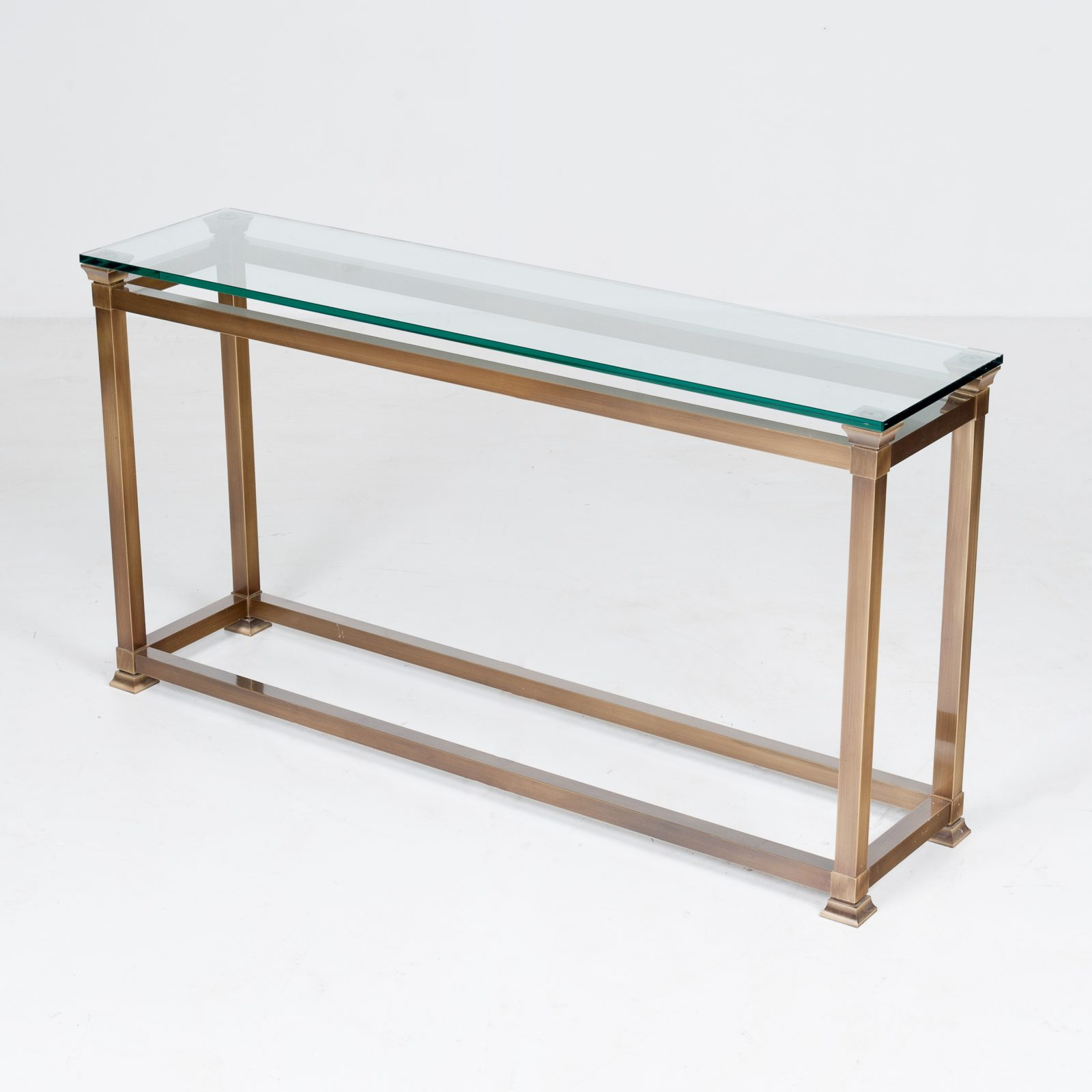 Wall Console In Brass, 1960s, The Netherlands5