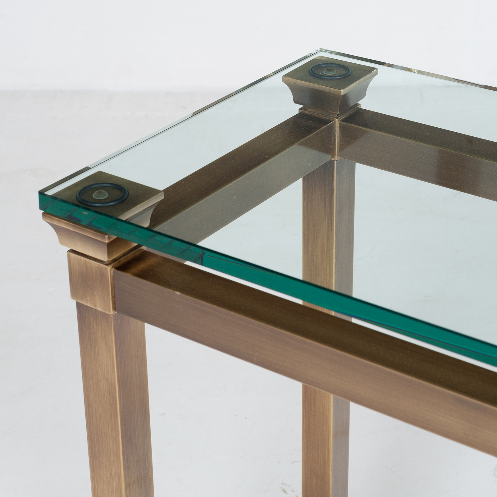 Wall Console In Brass, 1960s, The Netherlands6