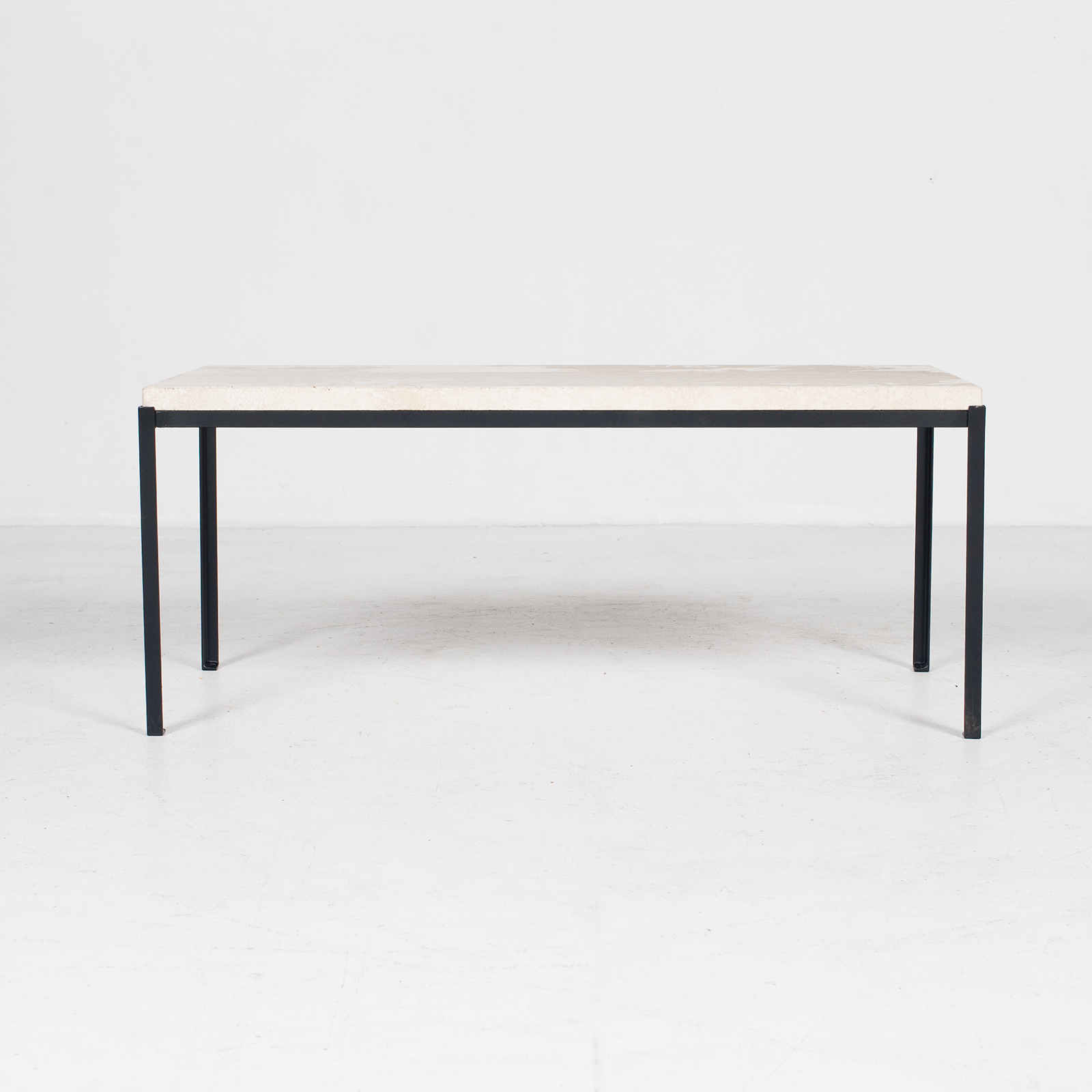 Coffee Table By Artemide With Travertine Top, 1970s, The Netherlands3