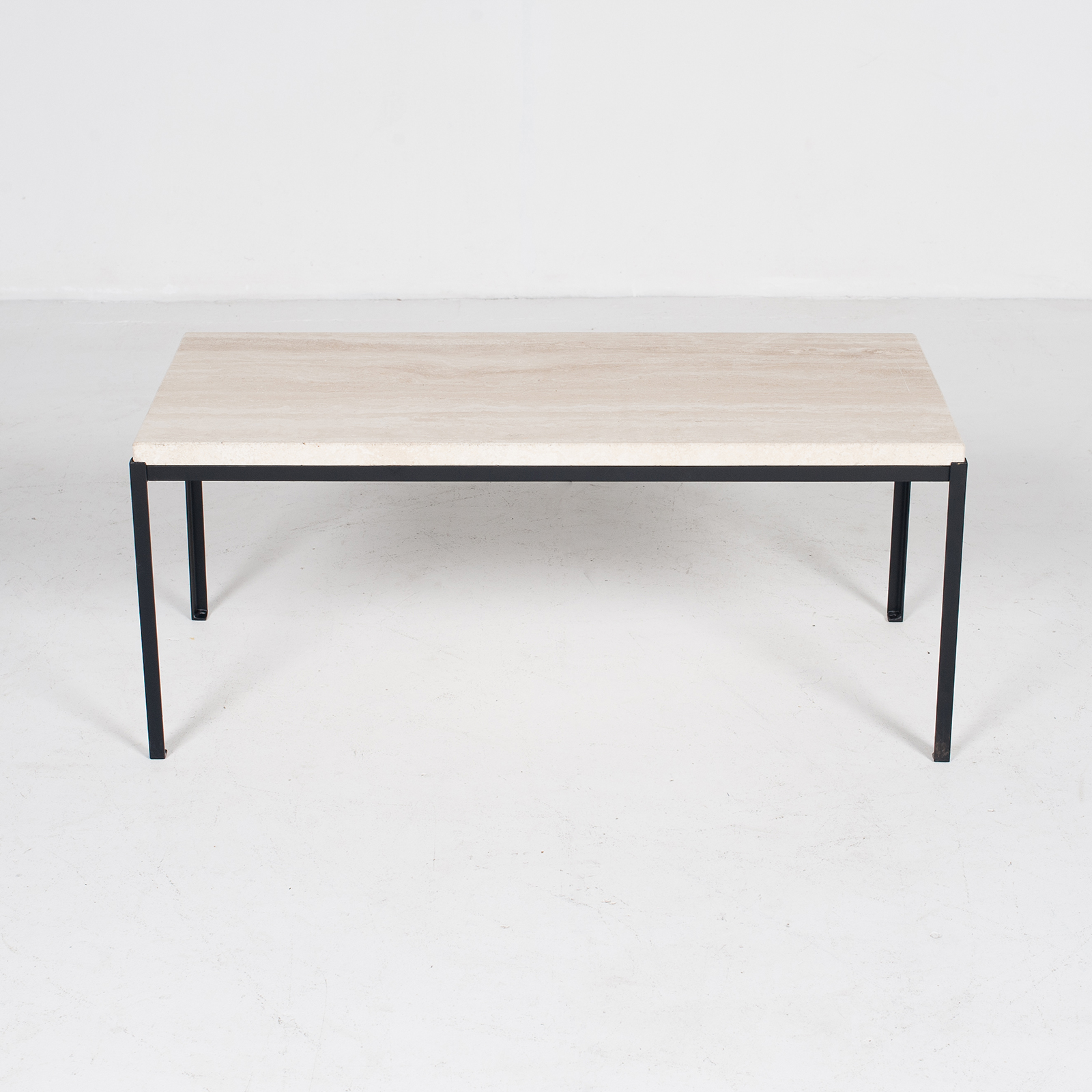 Coffee Table By Artemide With Travertine Top, 1970s, The Netherlands4