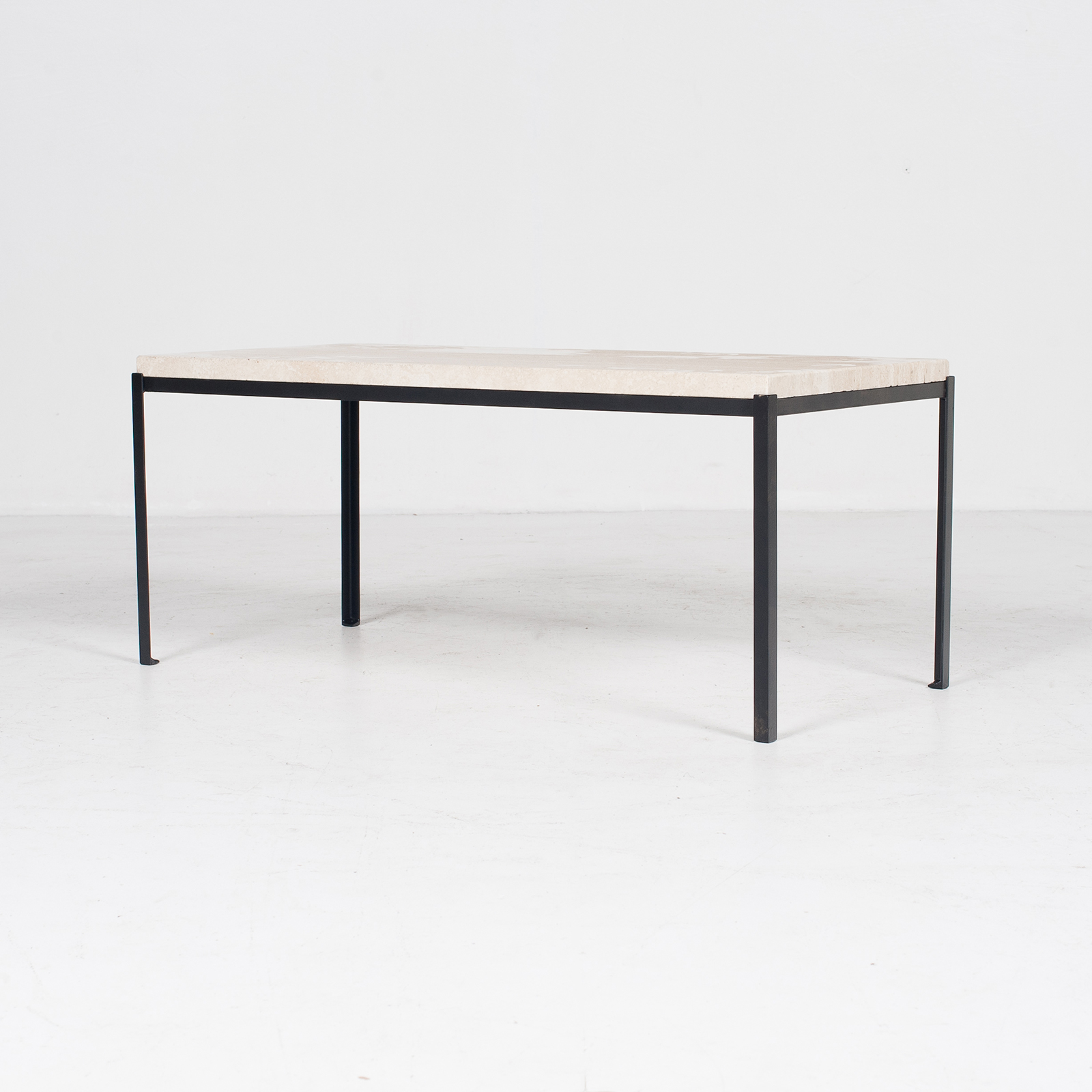 Coffee Table By Artemide With Travertine Top, 1970s, The Netherlands5