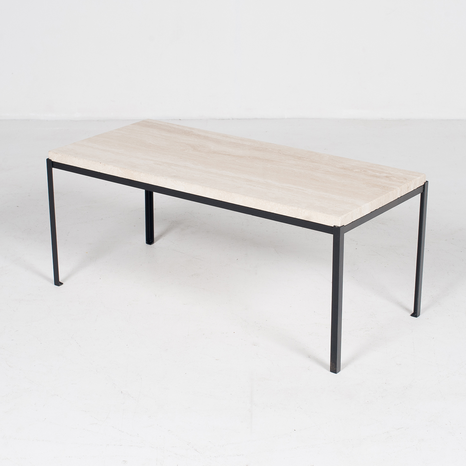 Coffee Table By Artemide With Travertine Top, 1970s, The Netherlands6