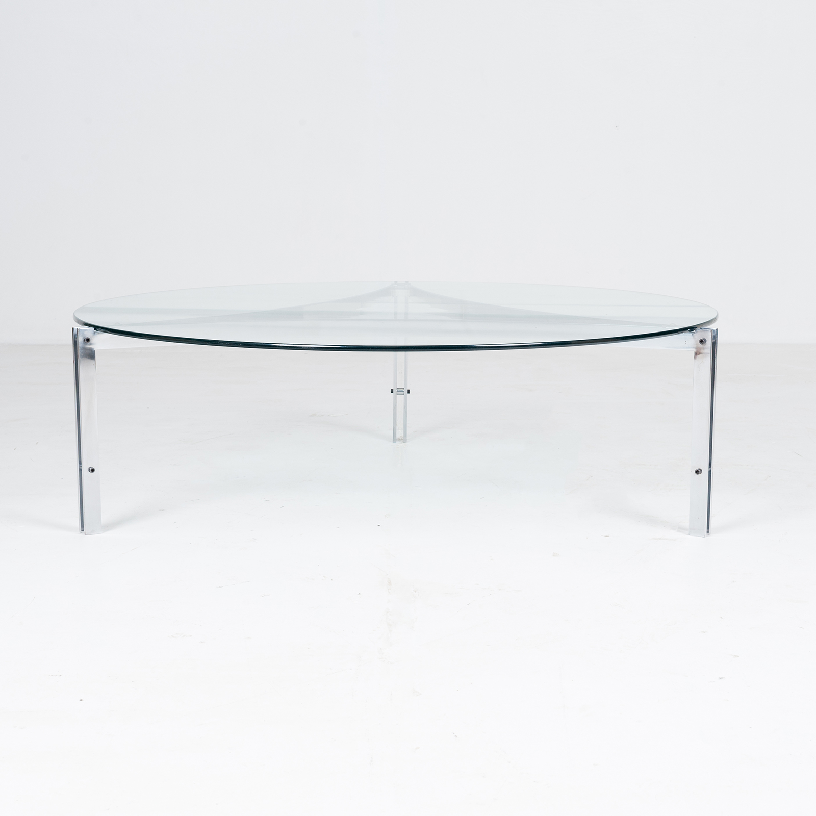 Tri Base Coffee Table By Metaform, 1970s, The Netherlands7