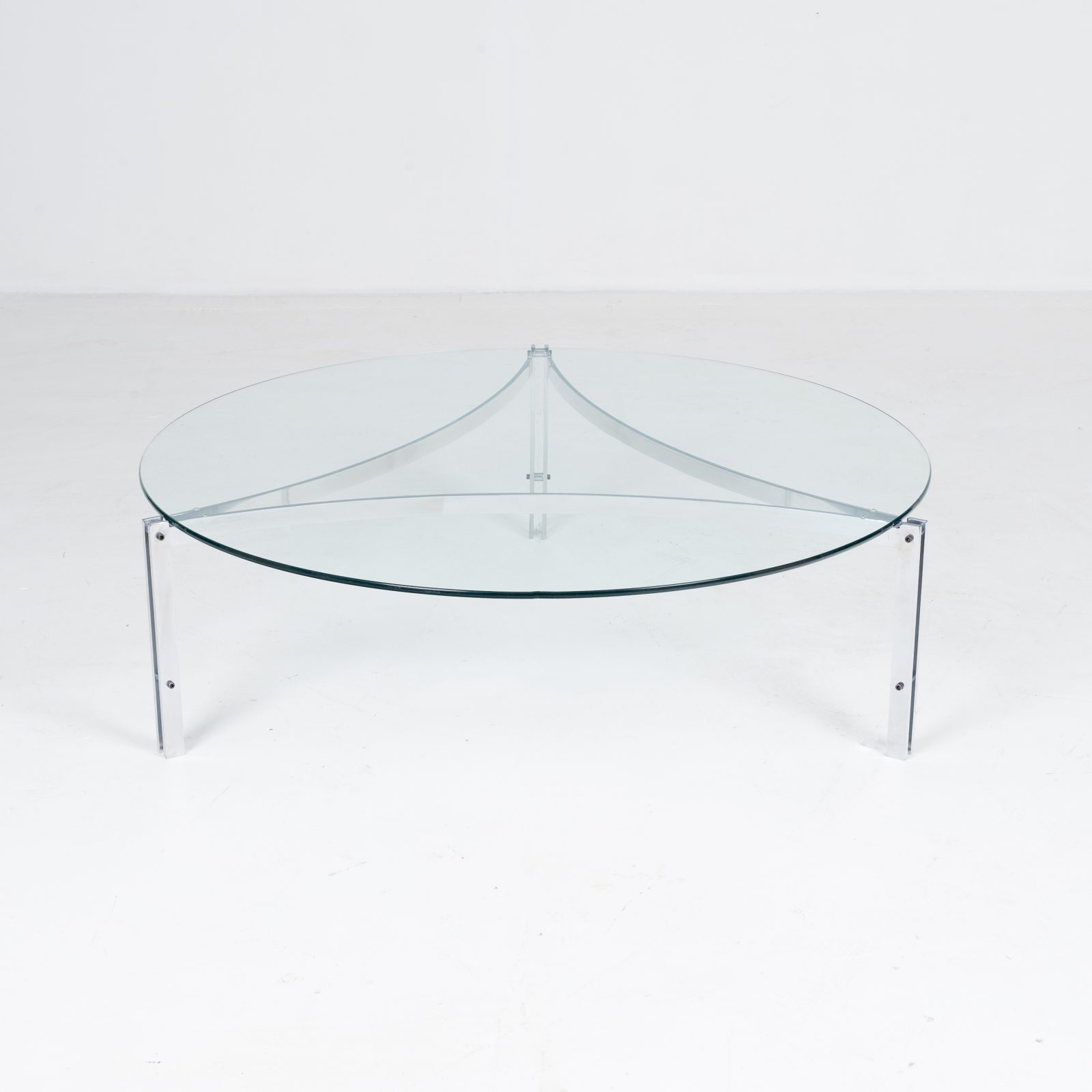 Tri Base Coffee Table By Metaform, 1970s, The Netherlands8