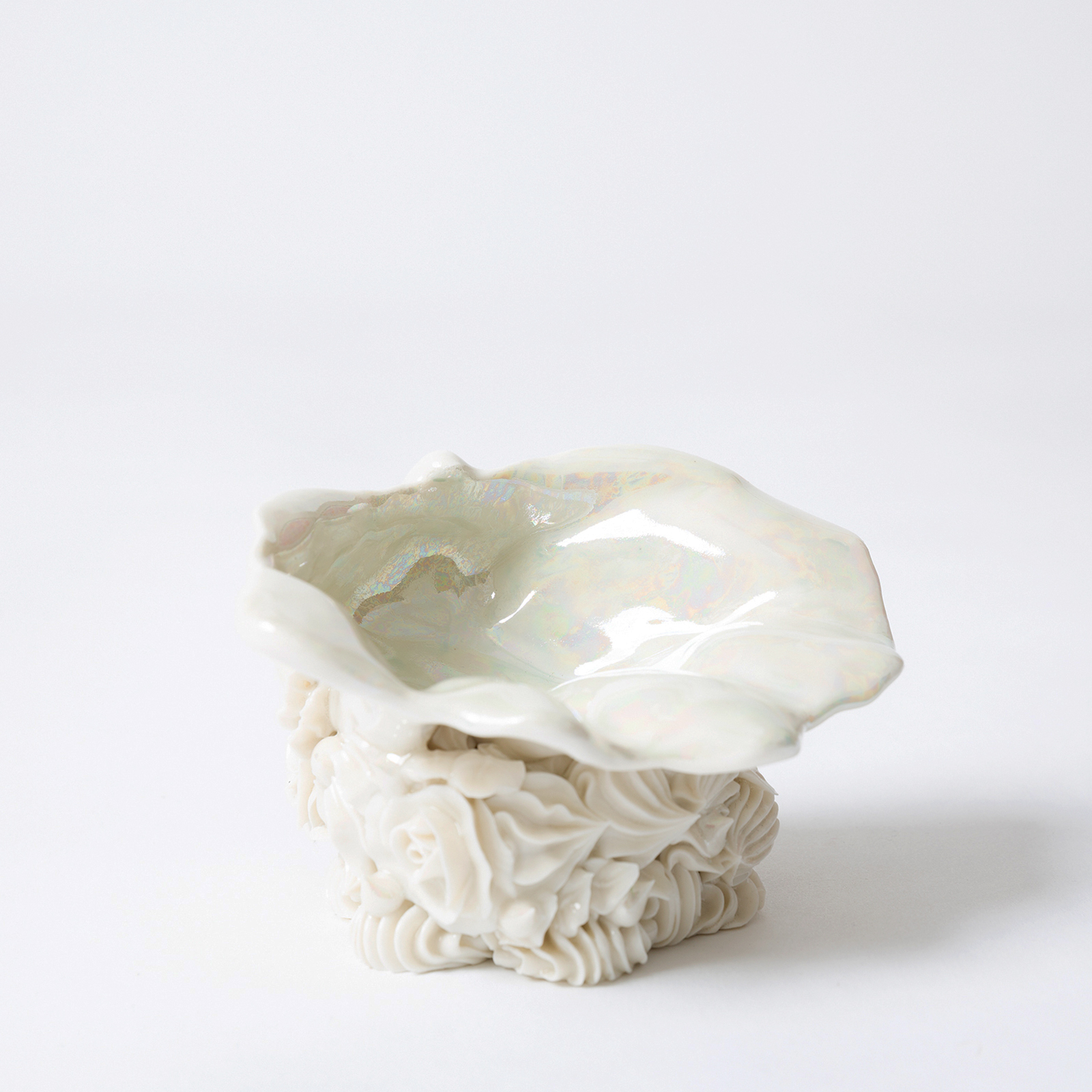 Shell Trinket Dish In Porcelain By Ebony Russell 2