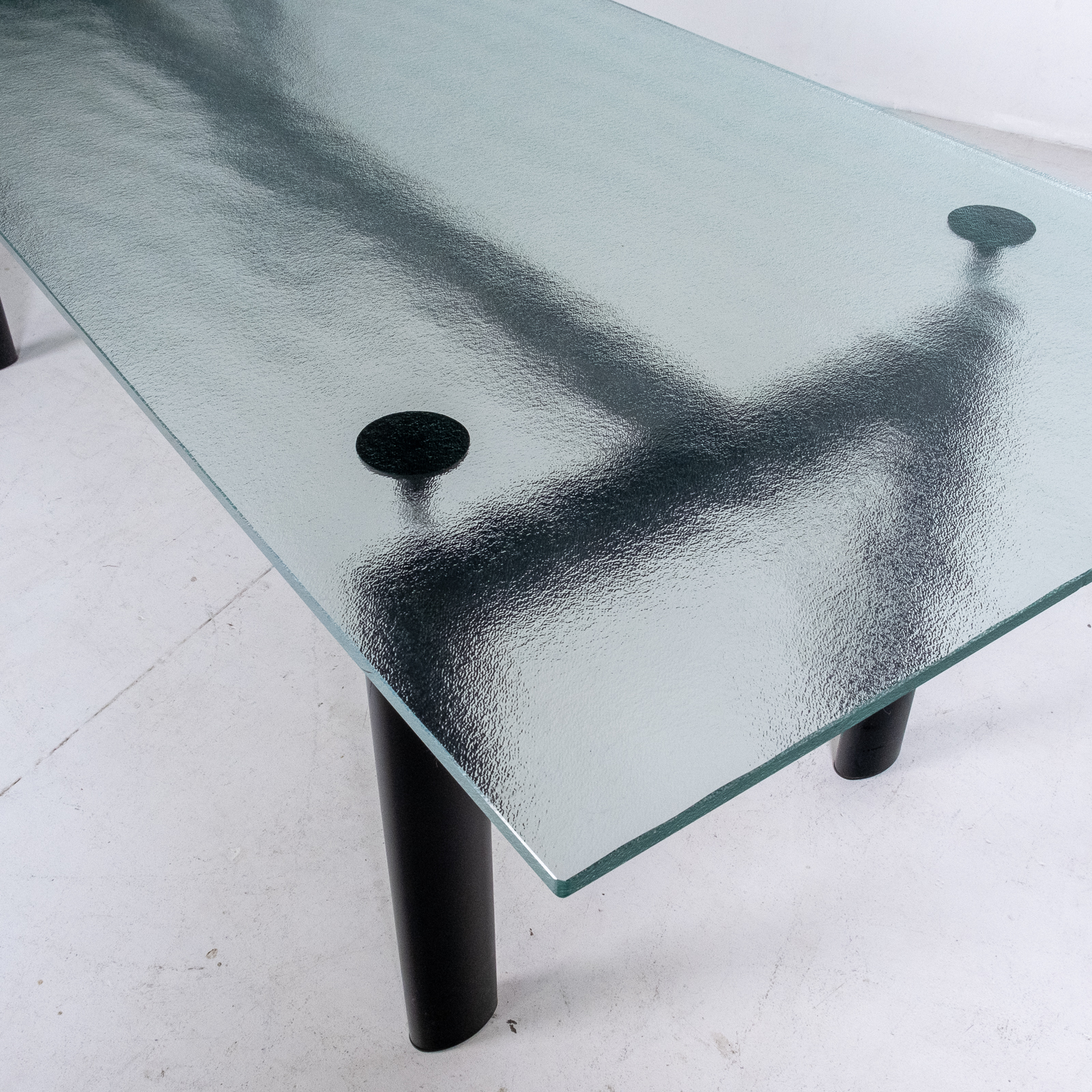Model Lc6 Glass Table By Le Corbusier For Cassina, 1990s, Italy9
