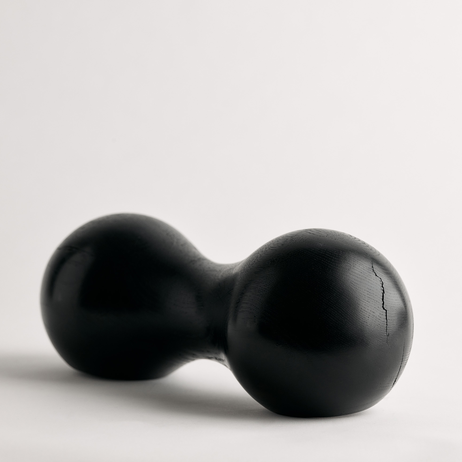Black Bean Sculpture In Ebonized American Oak By Zachary Frankel 3