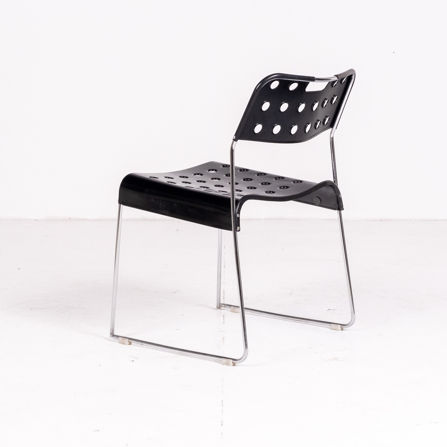 Model 'omstak' Chair By Rodney Kinsman For Bieffeplast, Italy, 1971 06