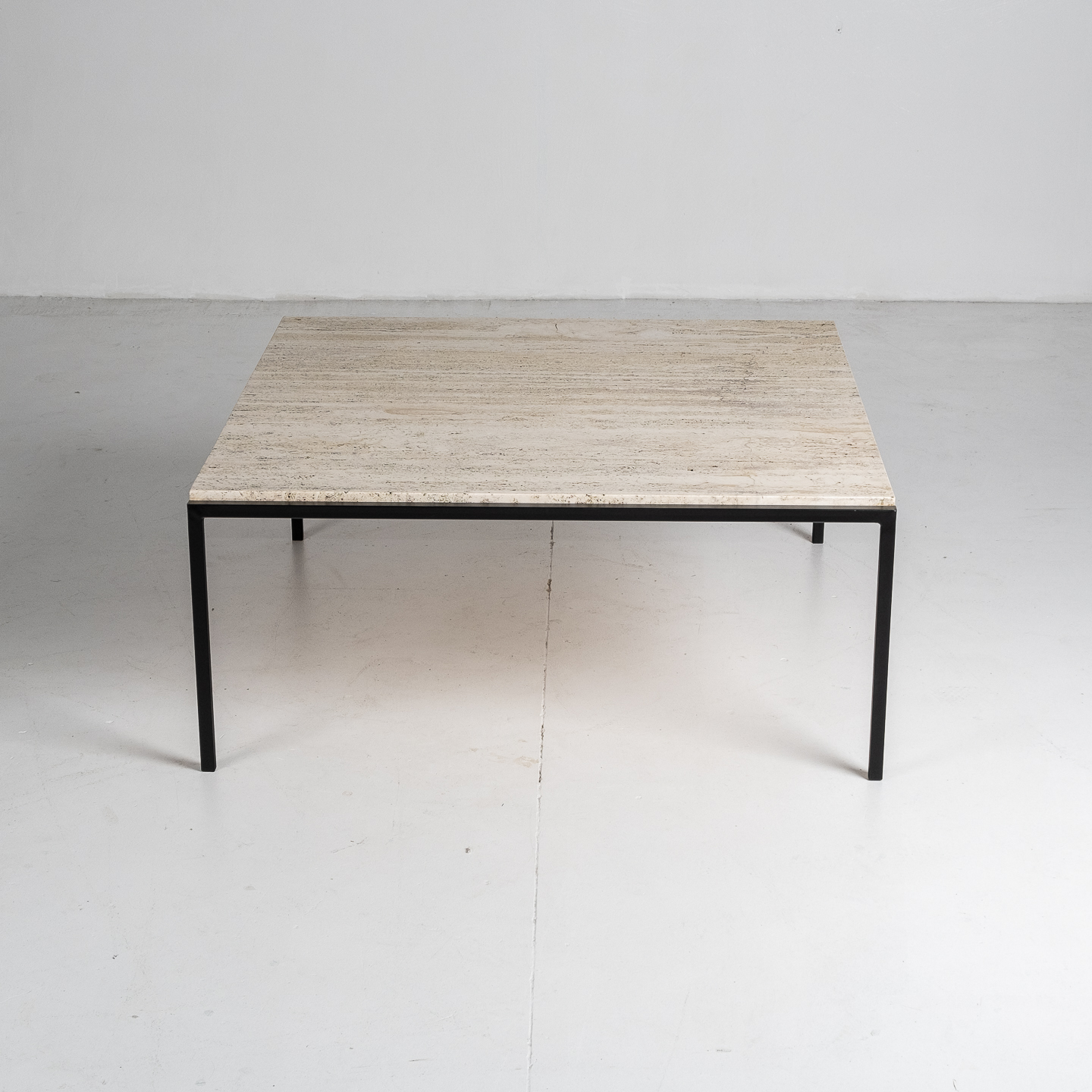 Square Travertine Coffee Table, 1950s, The Netherlands 42