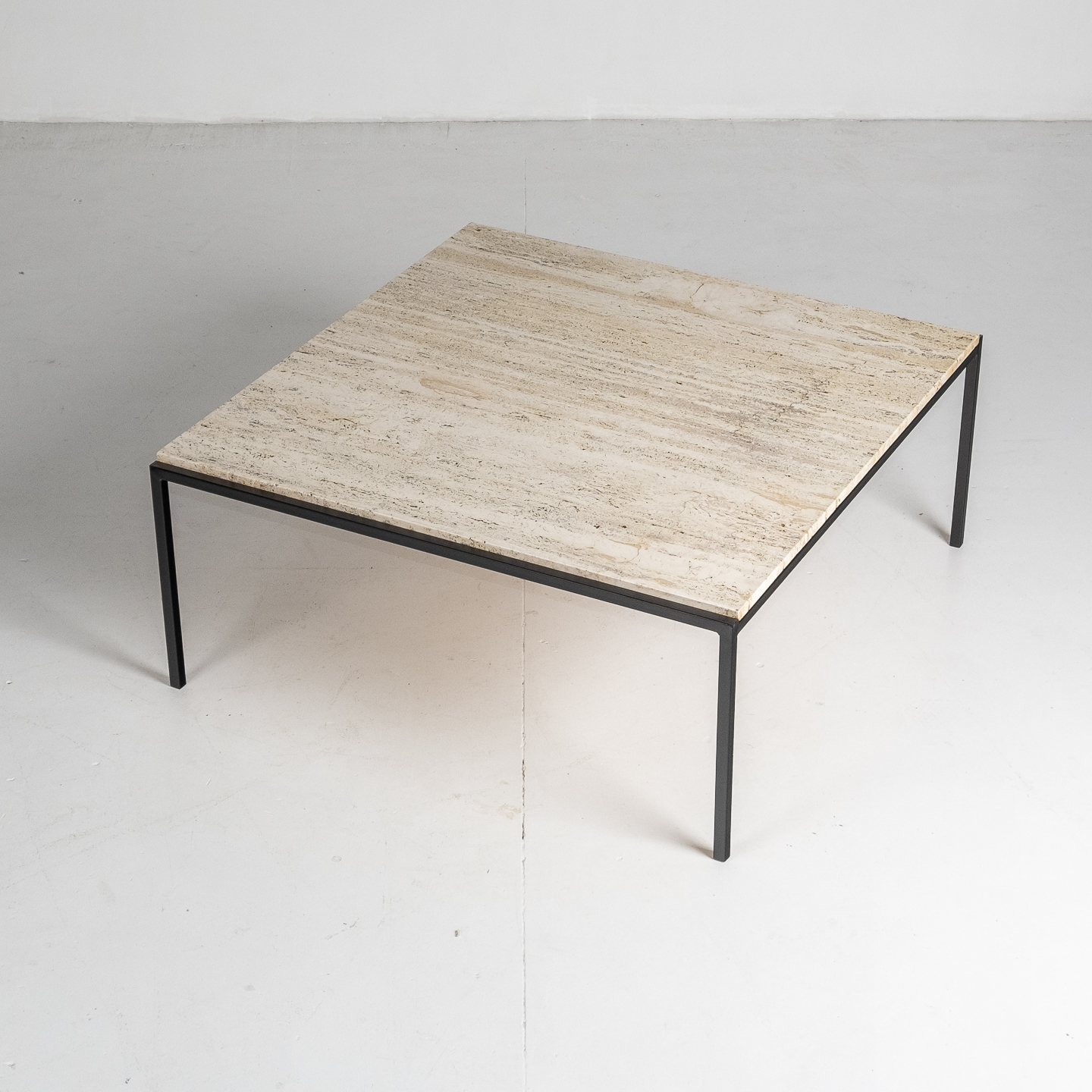 Square Travertine Coffee Table, 1950s, The Netherlands 47