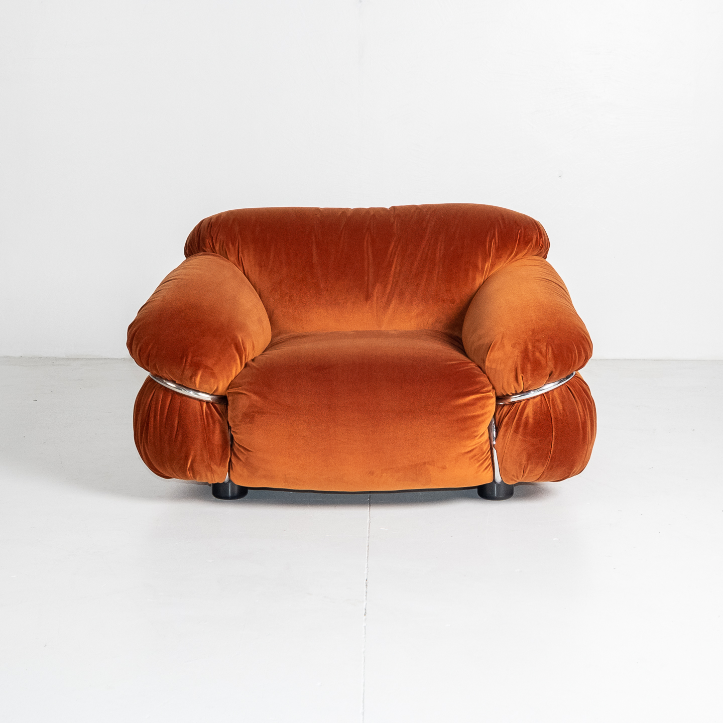 Model 595 Sesann Armchair By Gianfranco Frattini For Cassina, 1970s, Italy 08