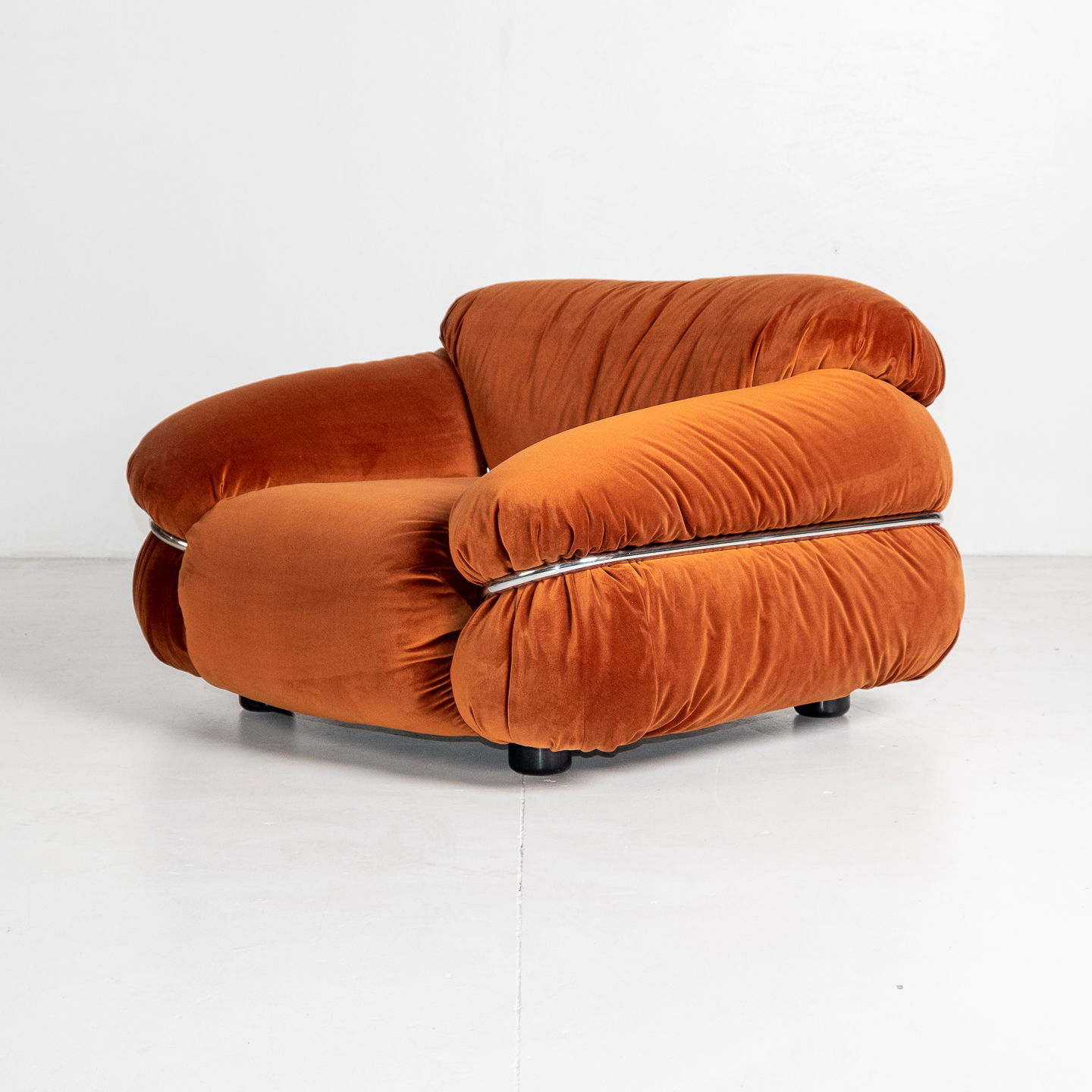 Model 595 Sesann Armchair By Gianfranco Frattini For Cassina, 1970s, Italy 13