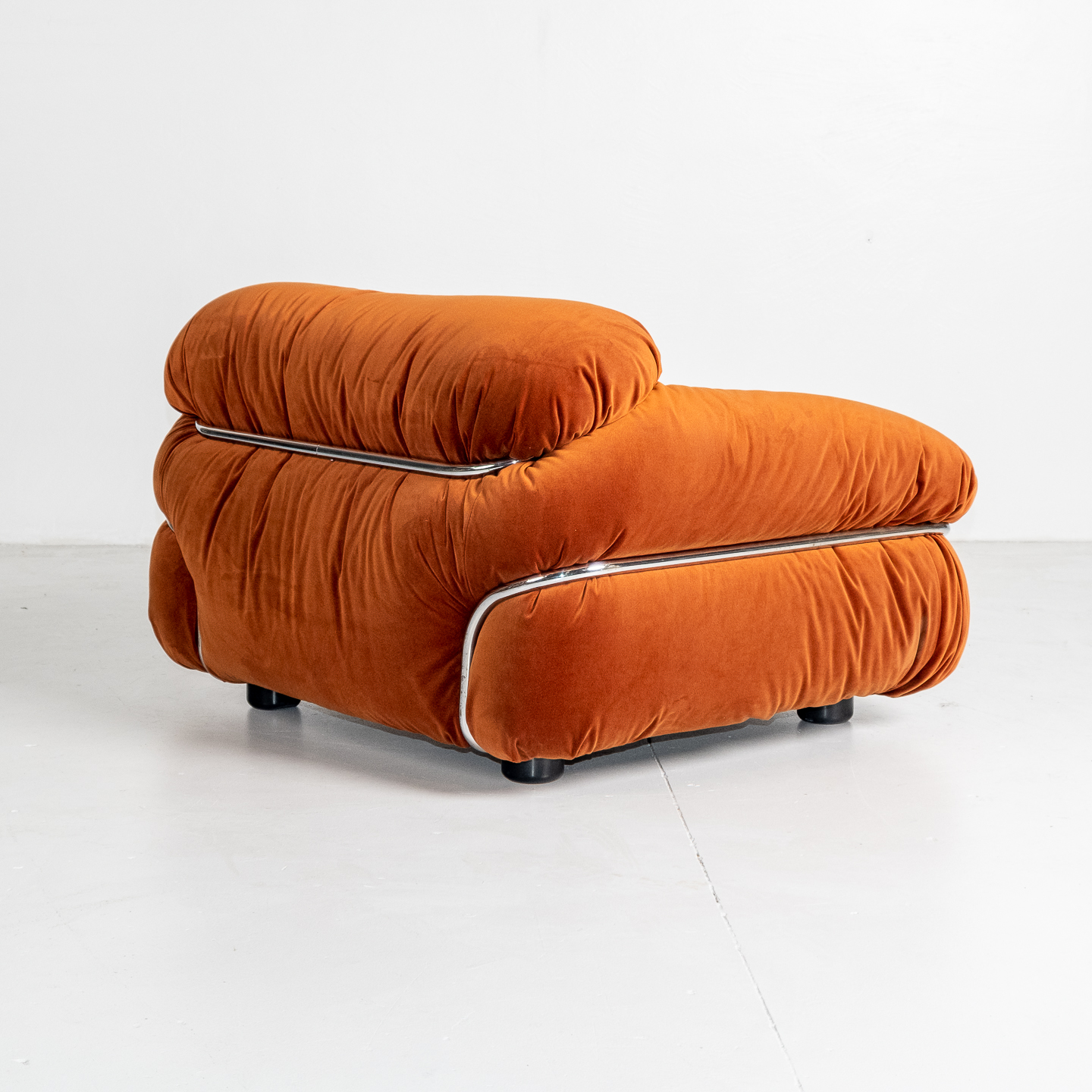 Model 595 Sesann Armchair By Gianfranco Frattini For Cassina, 1970s, Italy 17