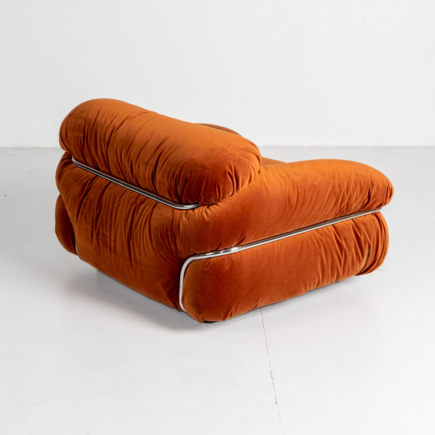 Model 595 Sesann Armchair By Gianfranco Frattini For Cassina, 1970s, Italy 20