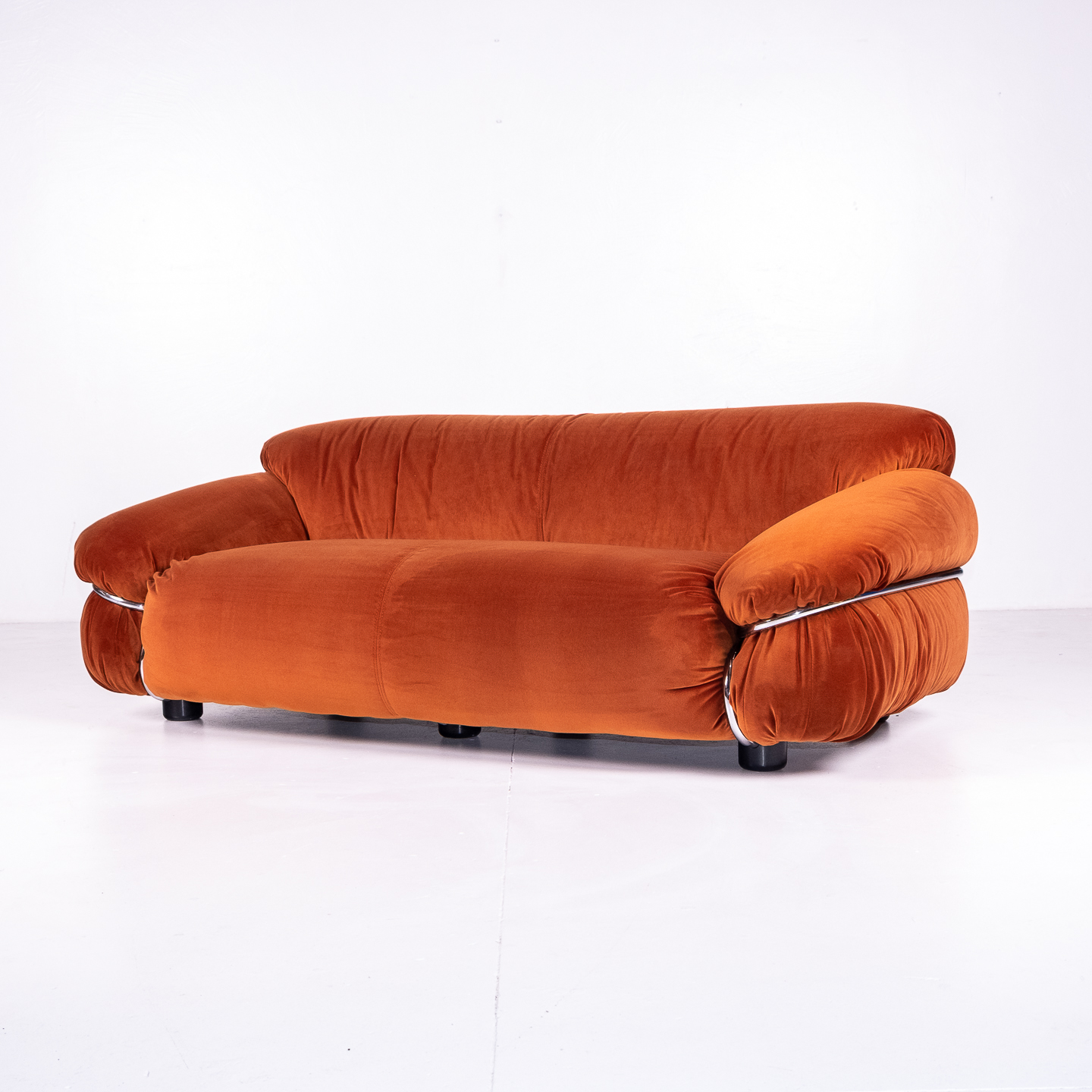 Model 595 Sesann Sofa By Gianfranco Frattini For Cassina, 1970s, Italy 192