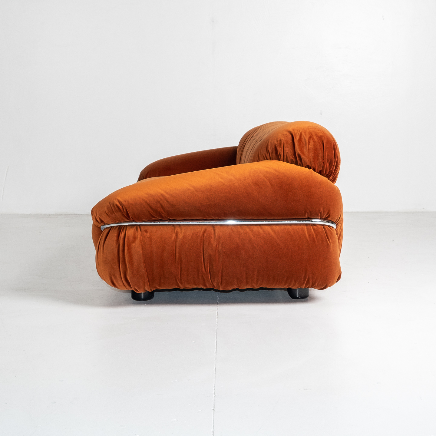Model 595 Sesann Sofa By Gianfranco Frattini For Cassina, 1970s, Italy 196