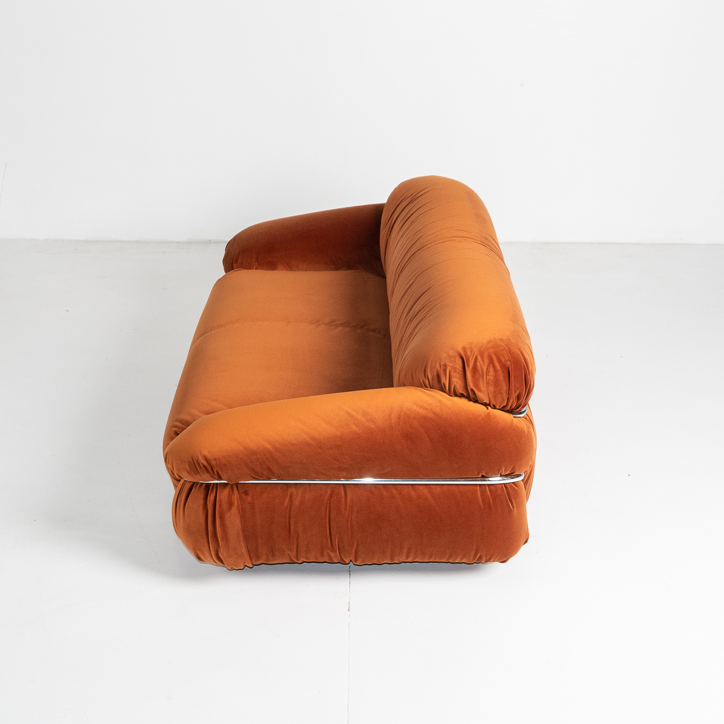 Model 595 Sesann Sofa By Gianfranco Frattini For Cassina, 1970s, Italy 198