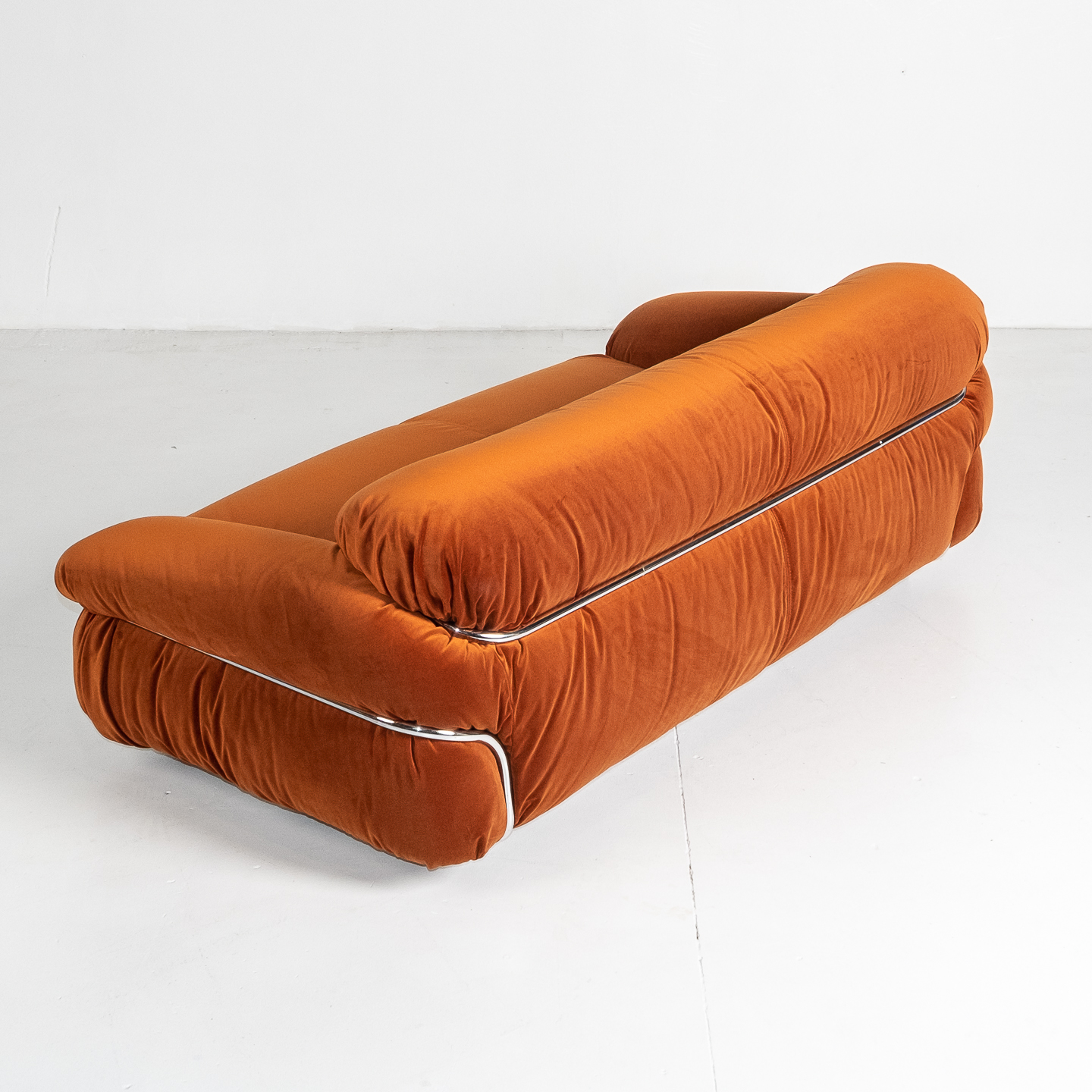 Model 595 Sesann Sofa By Gianfranco Frattini For Cassina, 1970s, Italy 201