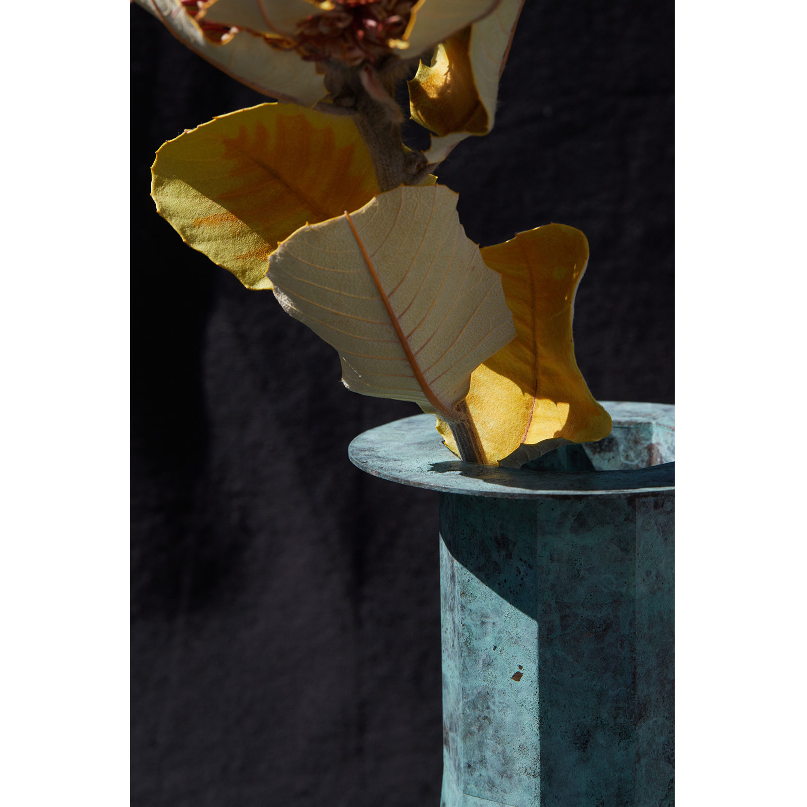 Water Tower Ii In Patinated Brass By Kenny Yong Soo Son 3