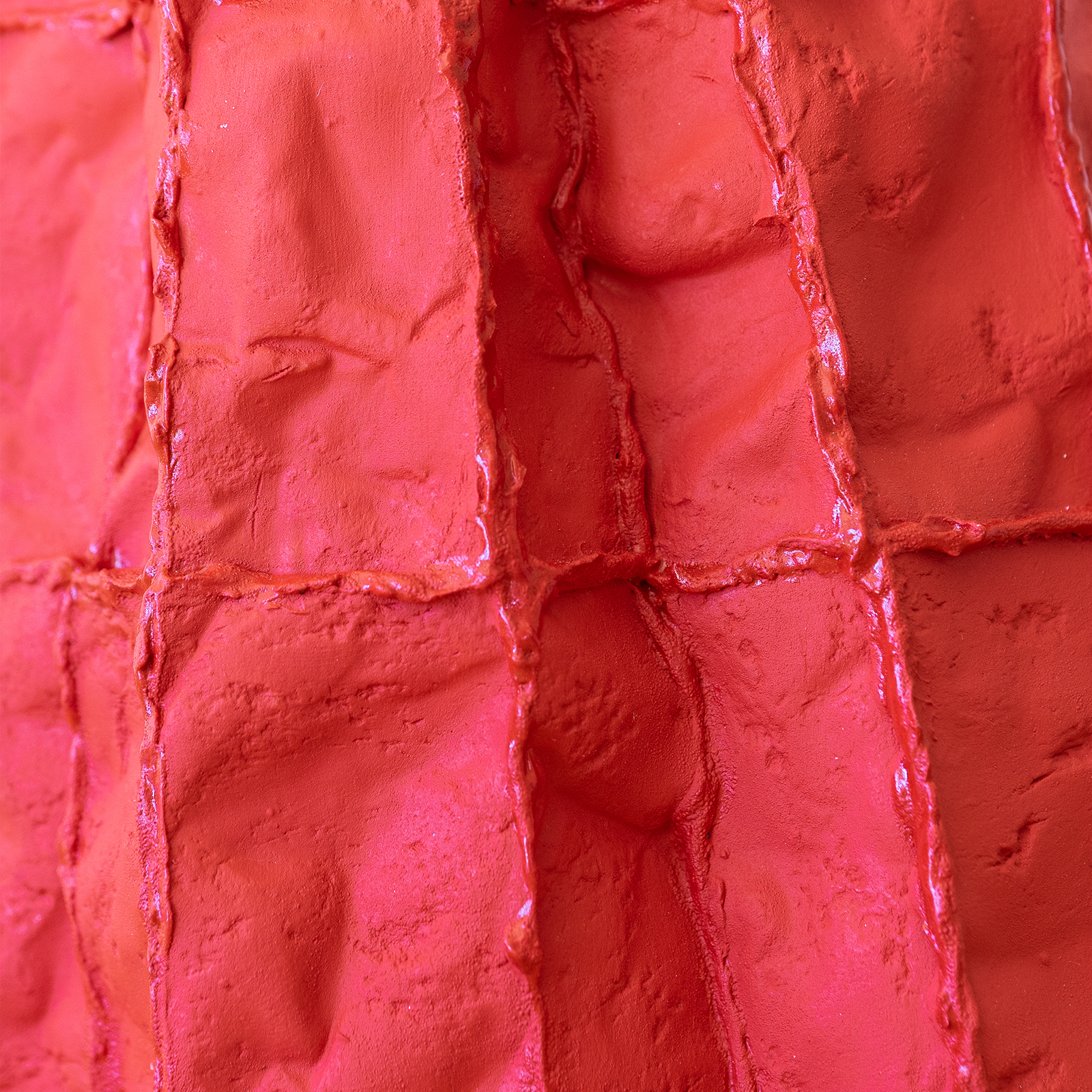 In Flux Red Lucy Tolan Detail2