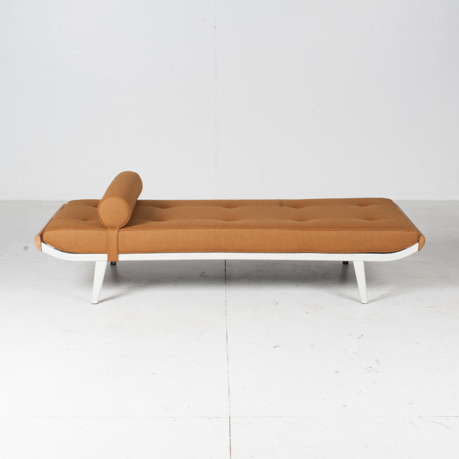 Cleopatra Daybed By Andre Cordemeyer For Auping In White Frame, 1950s, The Netherlands20
