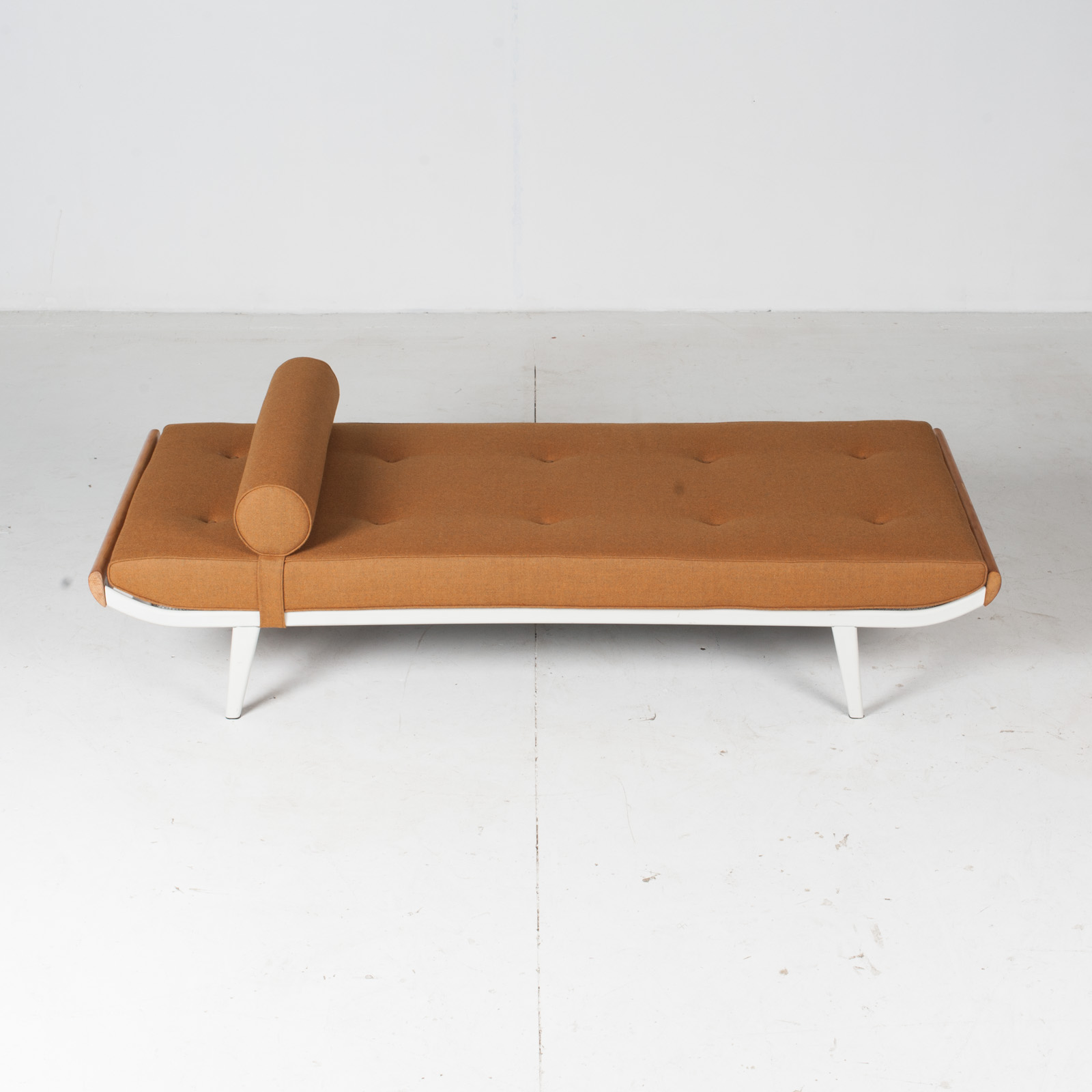 Cleopatra Daybed By Andre Cordemeyer For Auping In White Frame, 1950s, The Netherlands21