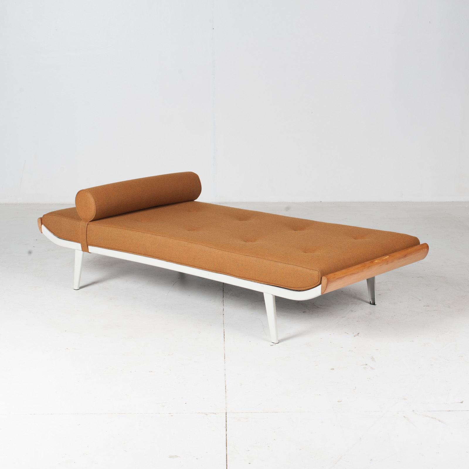 Cleopatra Daybed By Andre Cordemeyer For Auping In White Frame, 1950s, The Netherlands22
