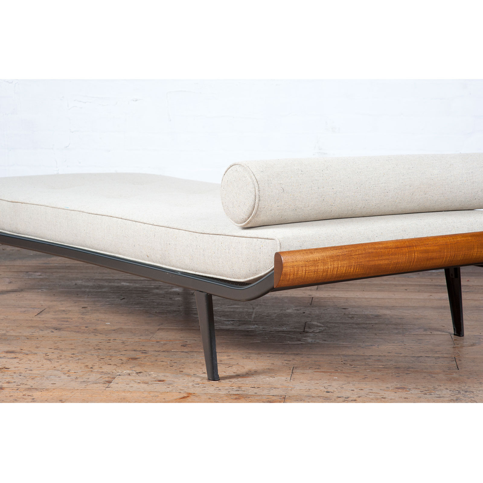 Cleopatra Daybed By Andre Cordemeyer For Auping With Gunmetal Frame, 1950s, The Netherlands 2