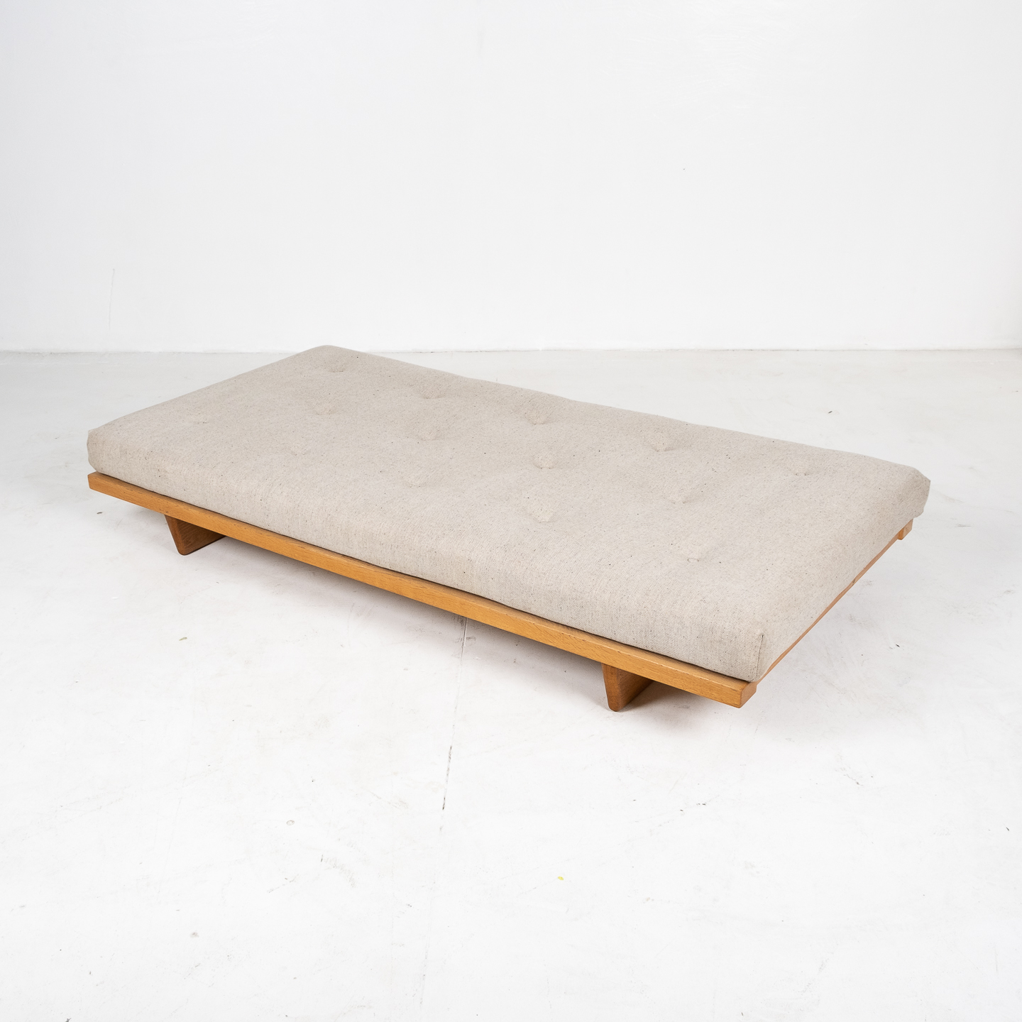 Model 192 Daybed By Borge Mogensen For Fredericia Stolefabrik In Oak And Instyle Upholstery, 1958, Denmark 16