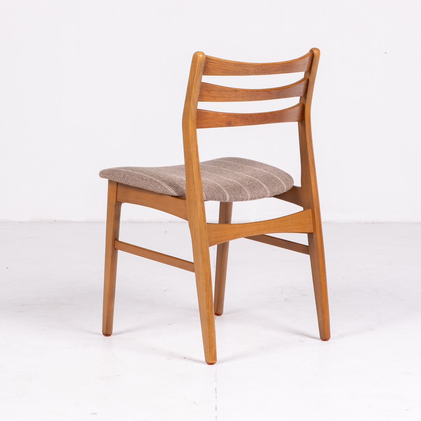 Set Of Four Ladder Back Dining Chairs By Farstrup, 1960s, Denmark 77