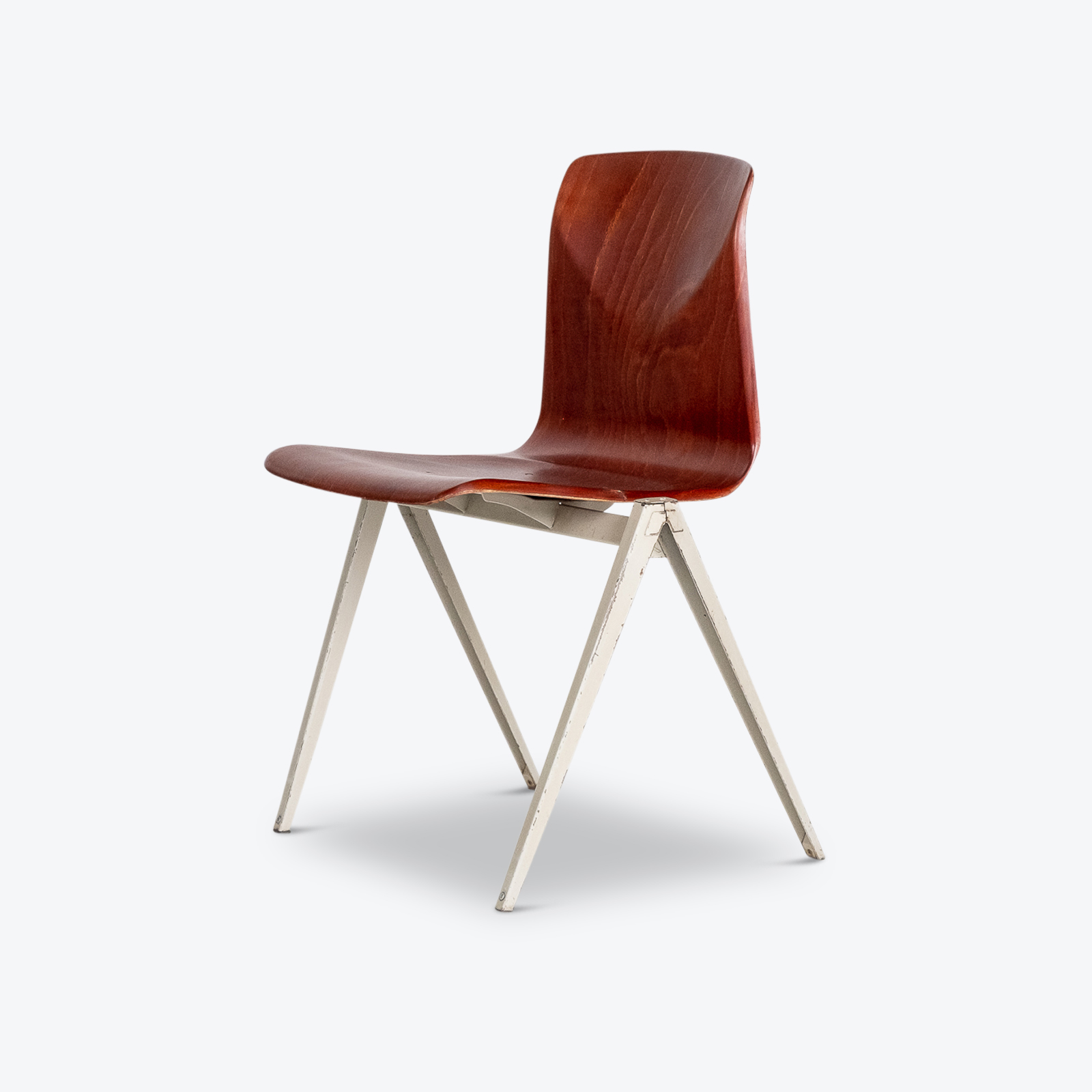 Model S22 Dining Chair By Galvanitas, 1960s, The Netherlands Hero