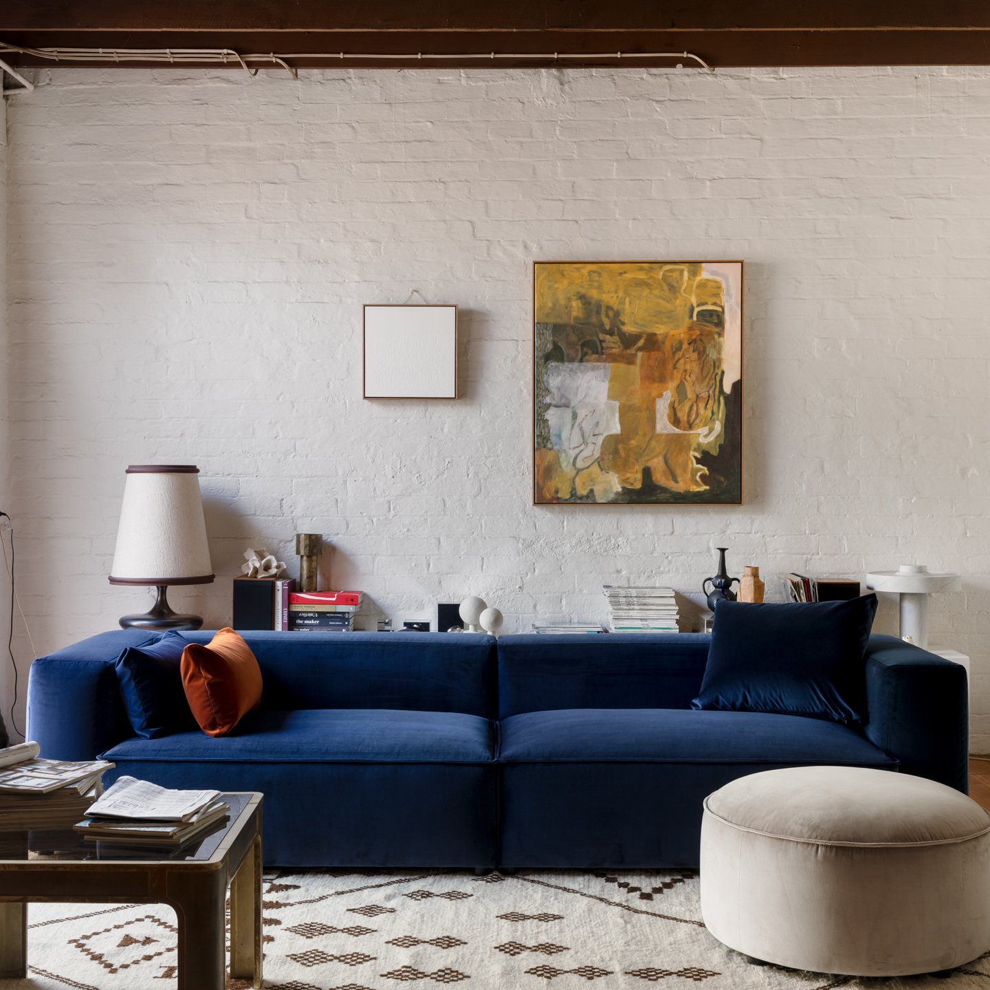 Permanent Future Easey Sofa Blue Styled 1 11