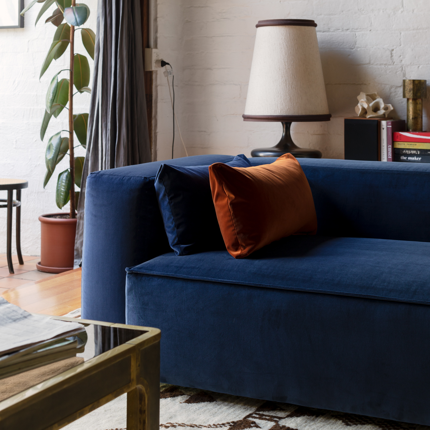 Permanent Future Easey Sofa Blue Styled 1 14