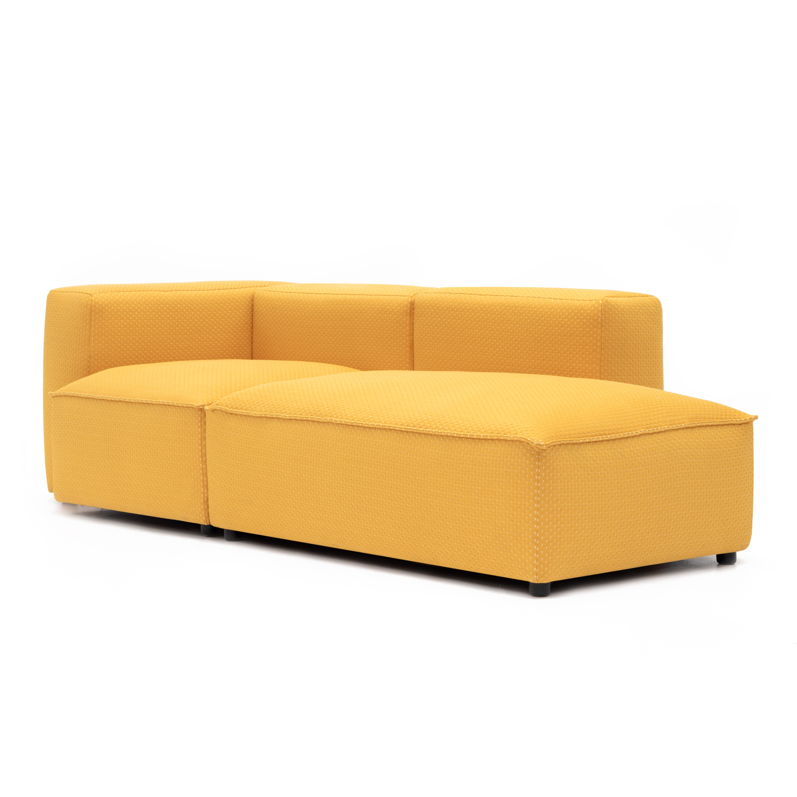 Permanent Future Easey Sofa Chasie Left Zoom Yellow Pf Ea Ch L Zy 45° View